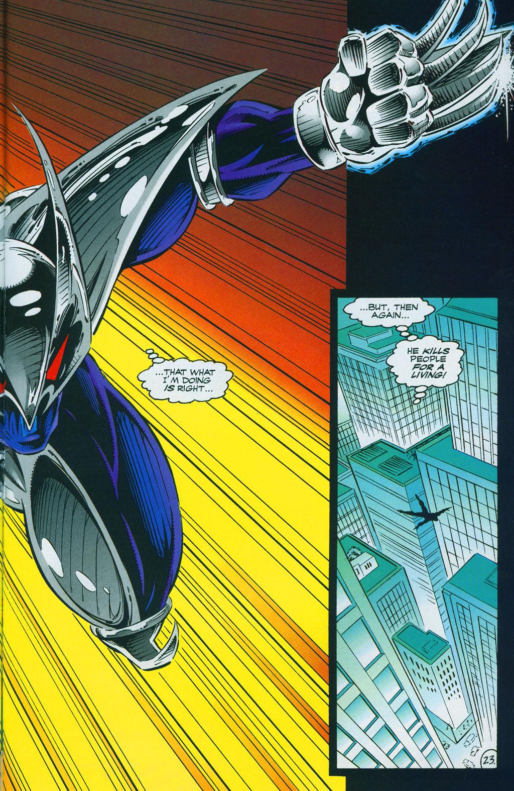 Read online ShadowHawk comic -  Issue #7 - 31