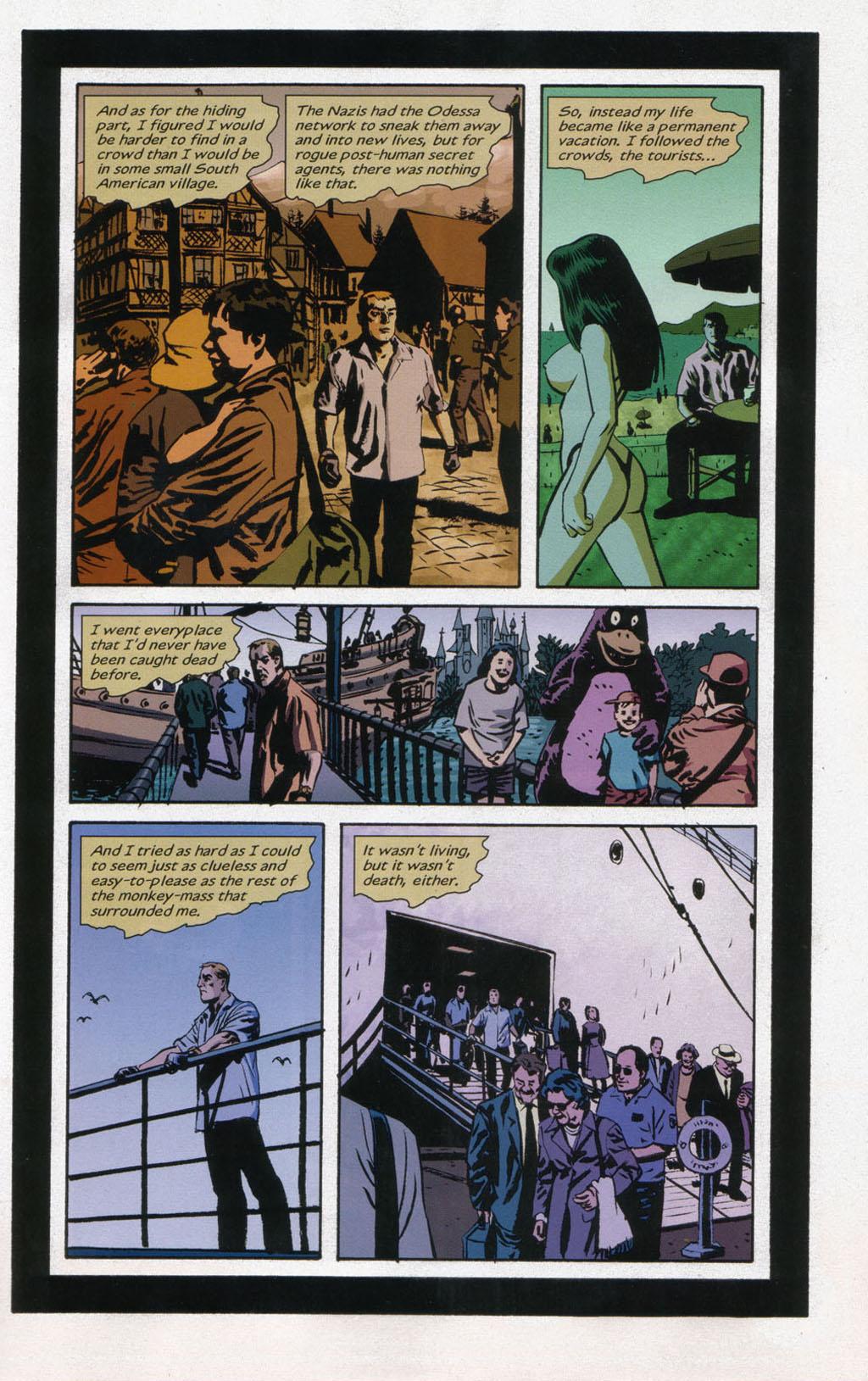 Read online Sleeper comic -  Issue #12 - 5