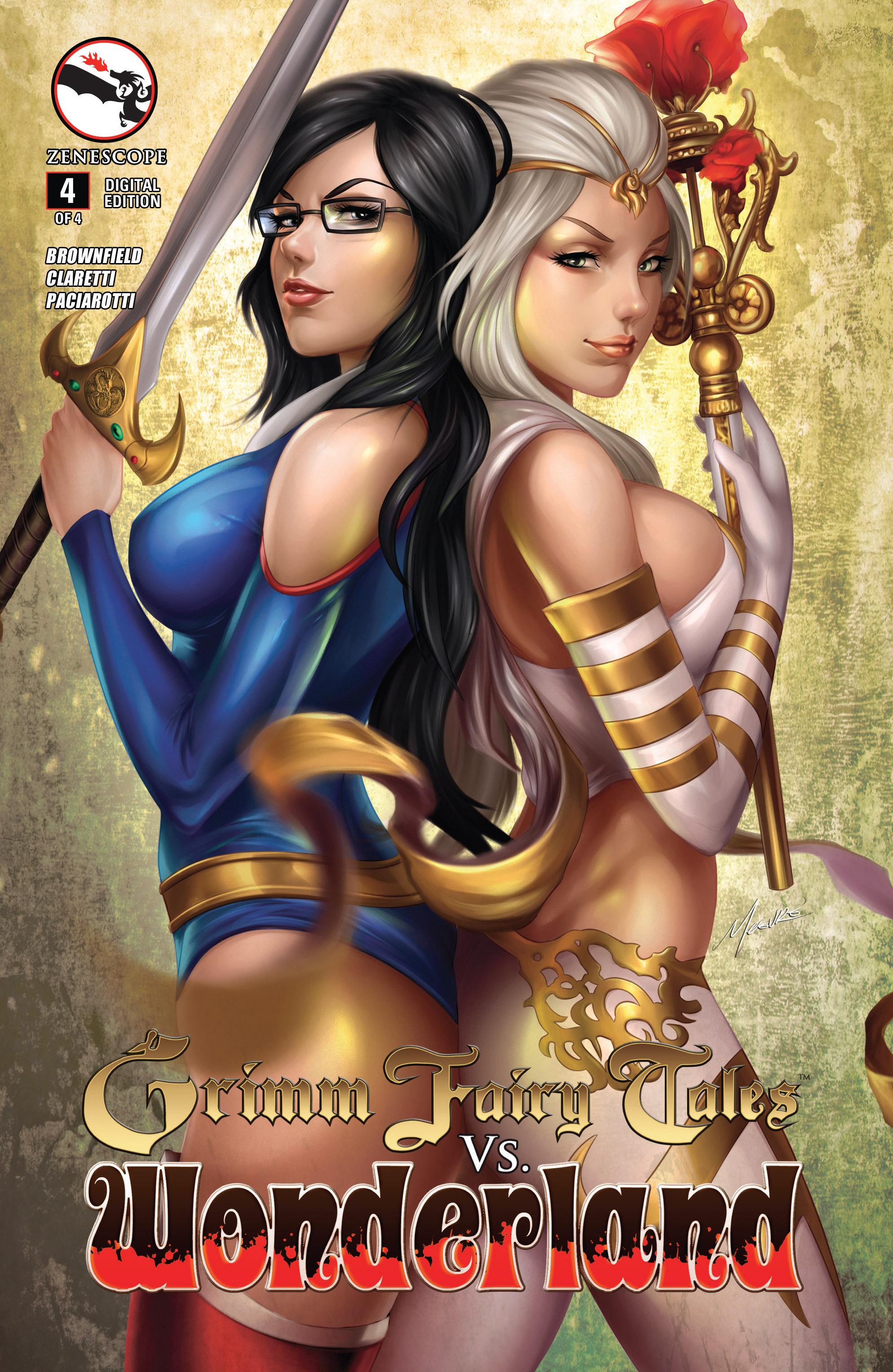 Read online Grimm Fairy Tales vs. Wonderland comic -  Issue #4 - 2