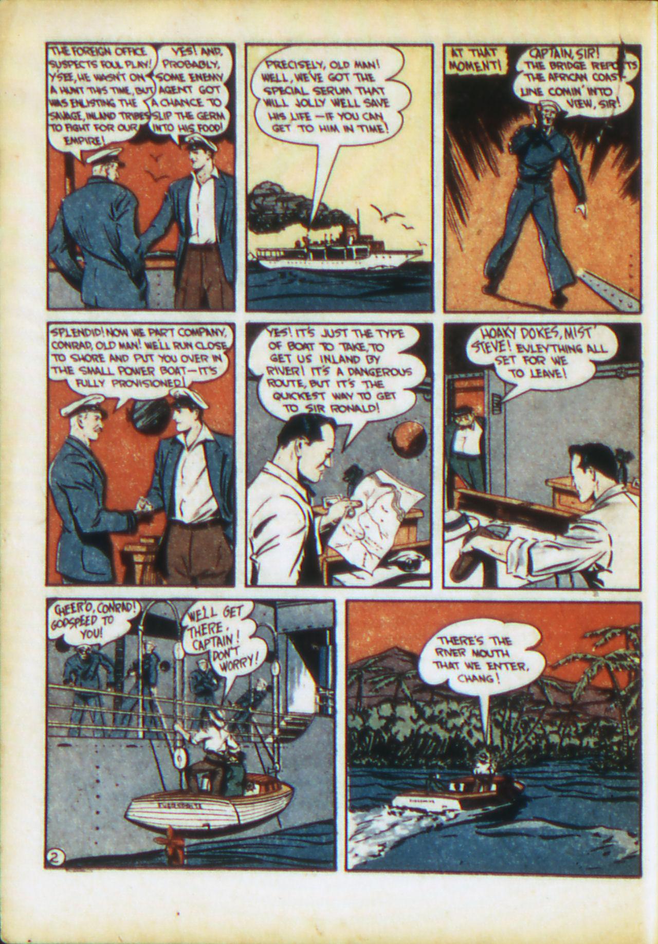 Read online Adventure Comics (1938) comic -  Issue #71 - 35