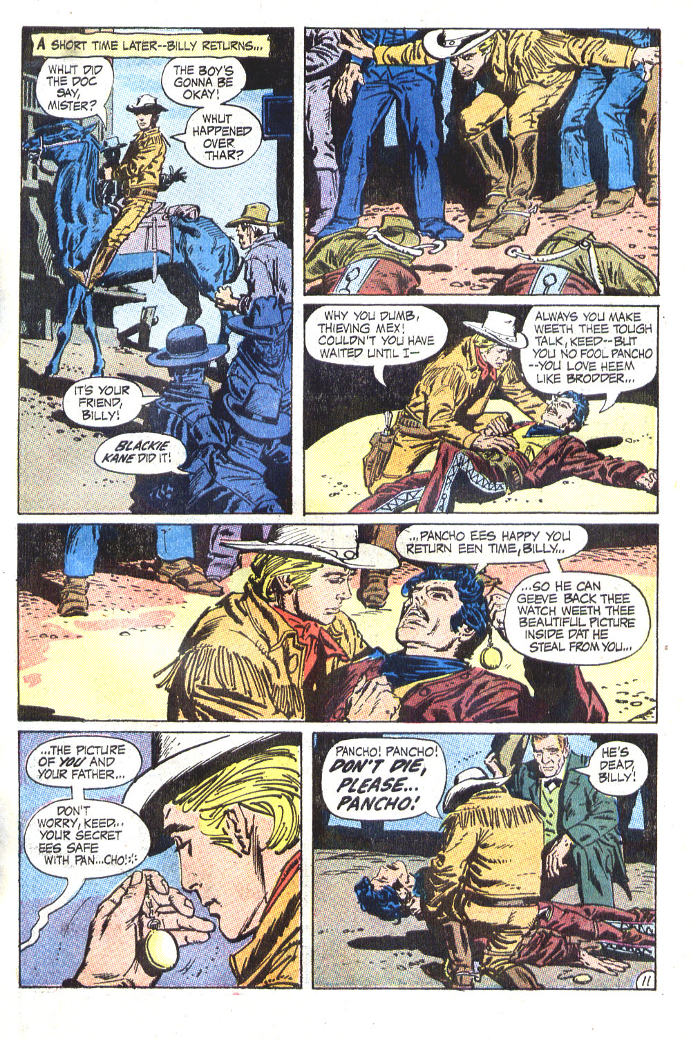 Read online All-Star Western (1970) comic -  Issue #6 - 15