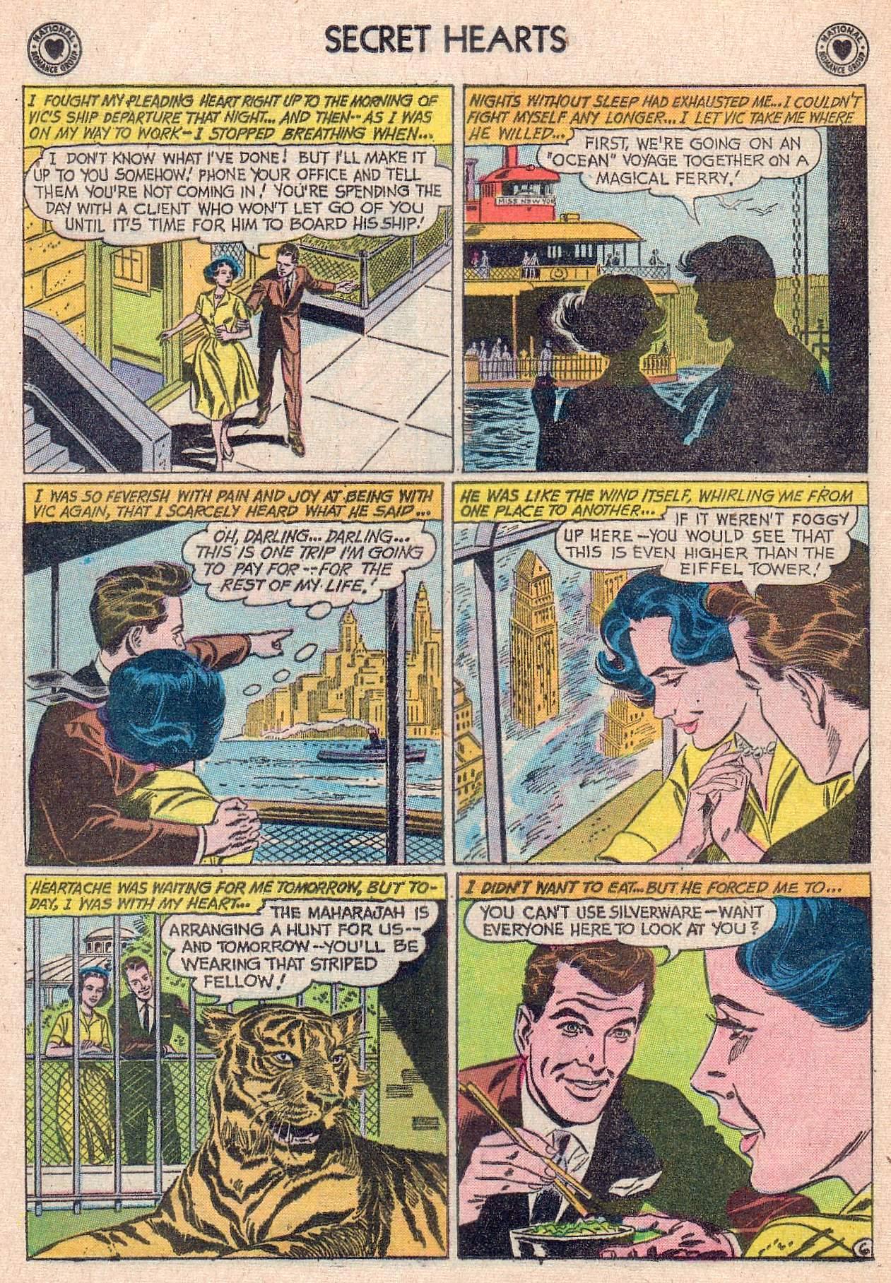 Read online Secret Hearts comic -  Issue #67 - 8