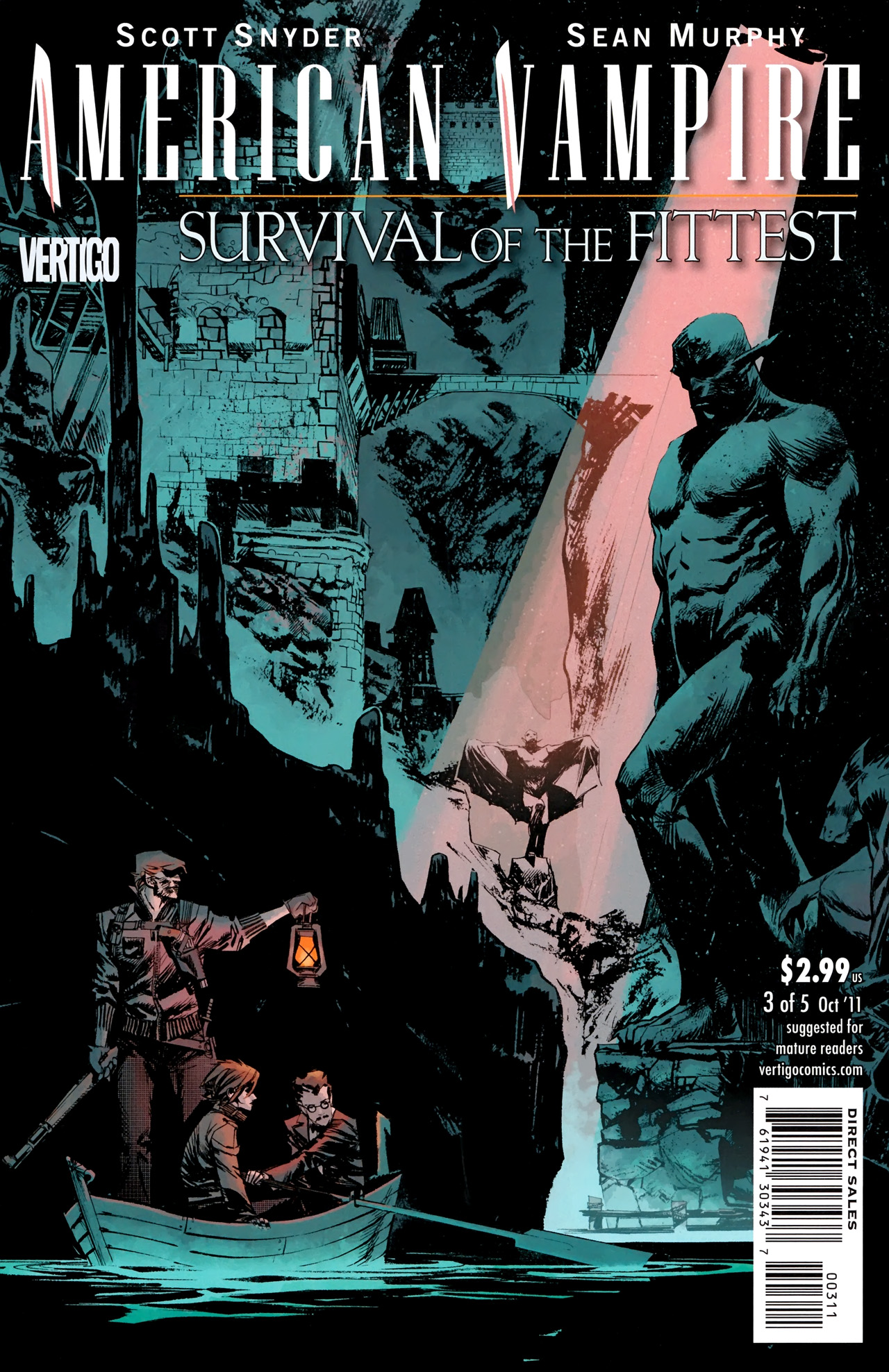 Read online American Vampire: Survival of the Fittest comic -  Issue #3 - 1