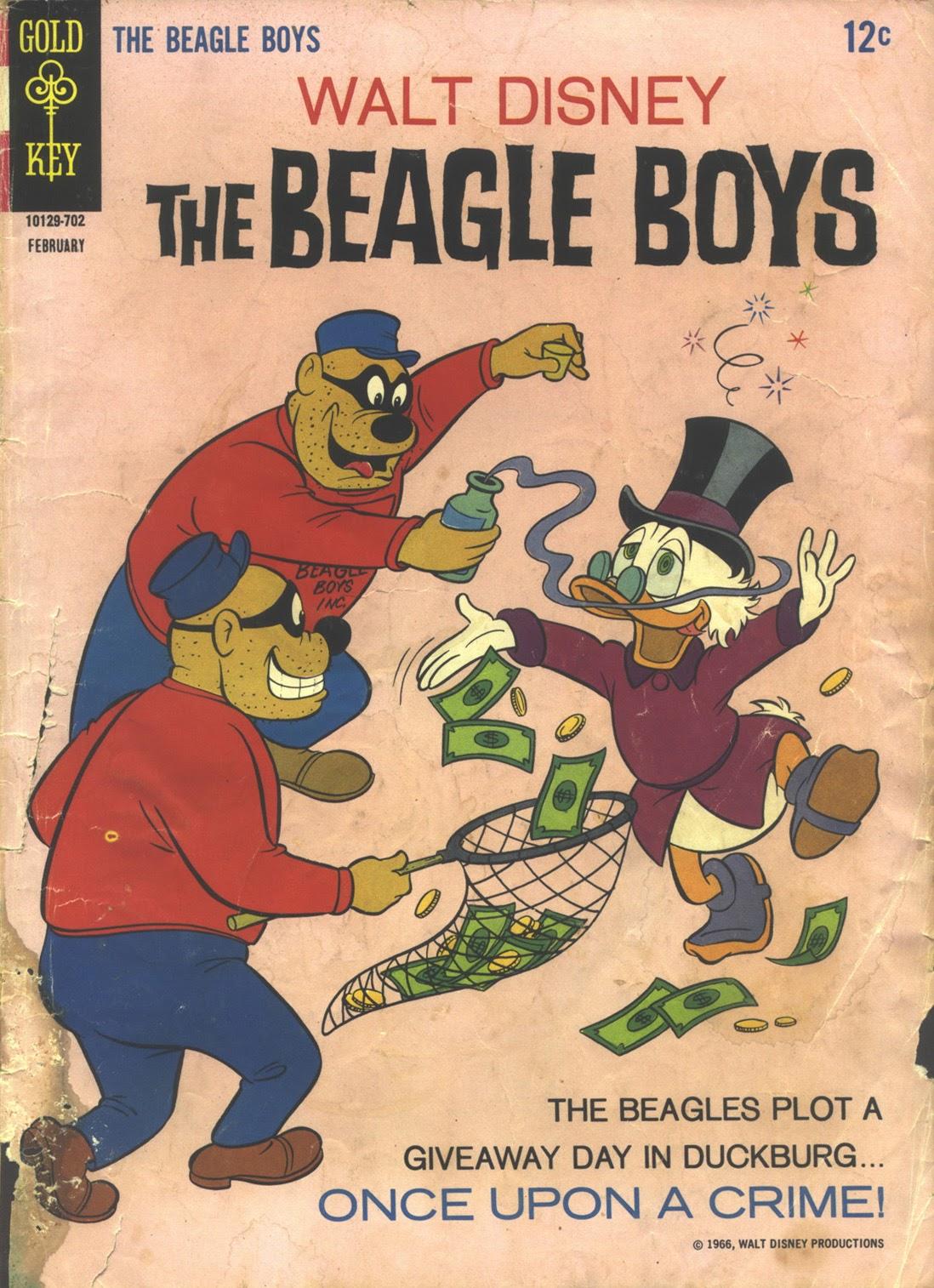 Walt Disney THE BEAGLE BOYS issue 5 - Page 1