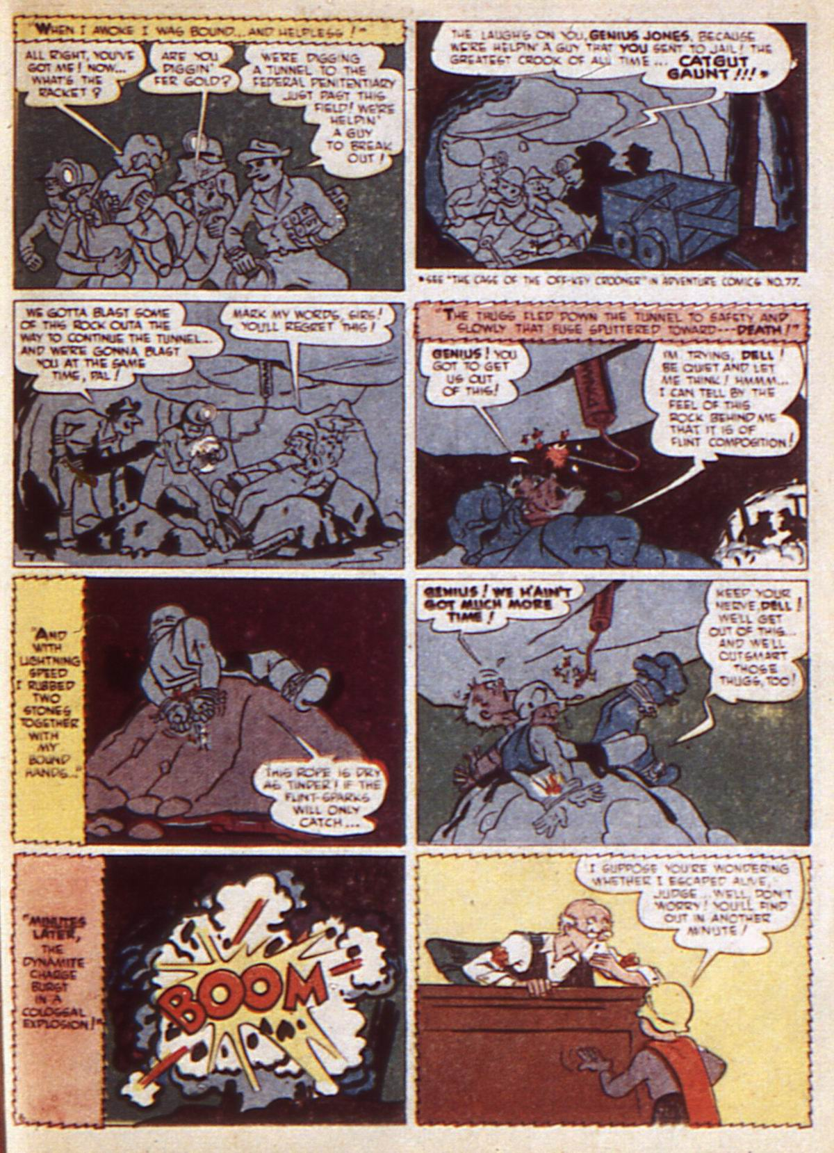 Read online Adventure Comics (1938) comic -  Issue #85 - 43