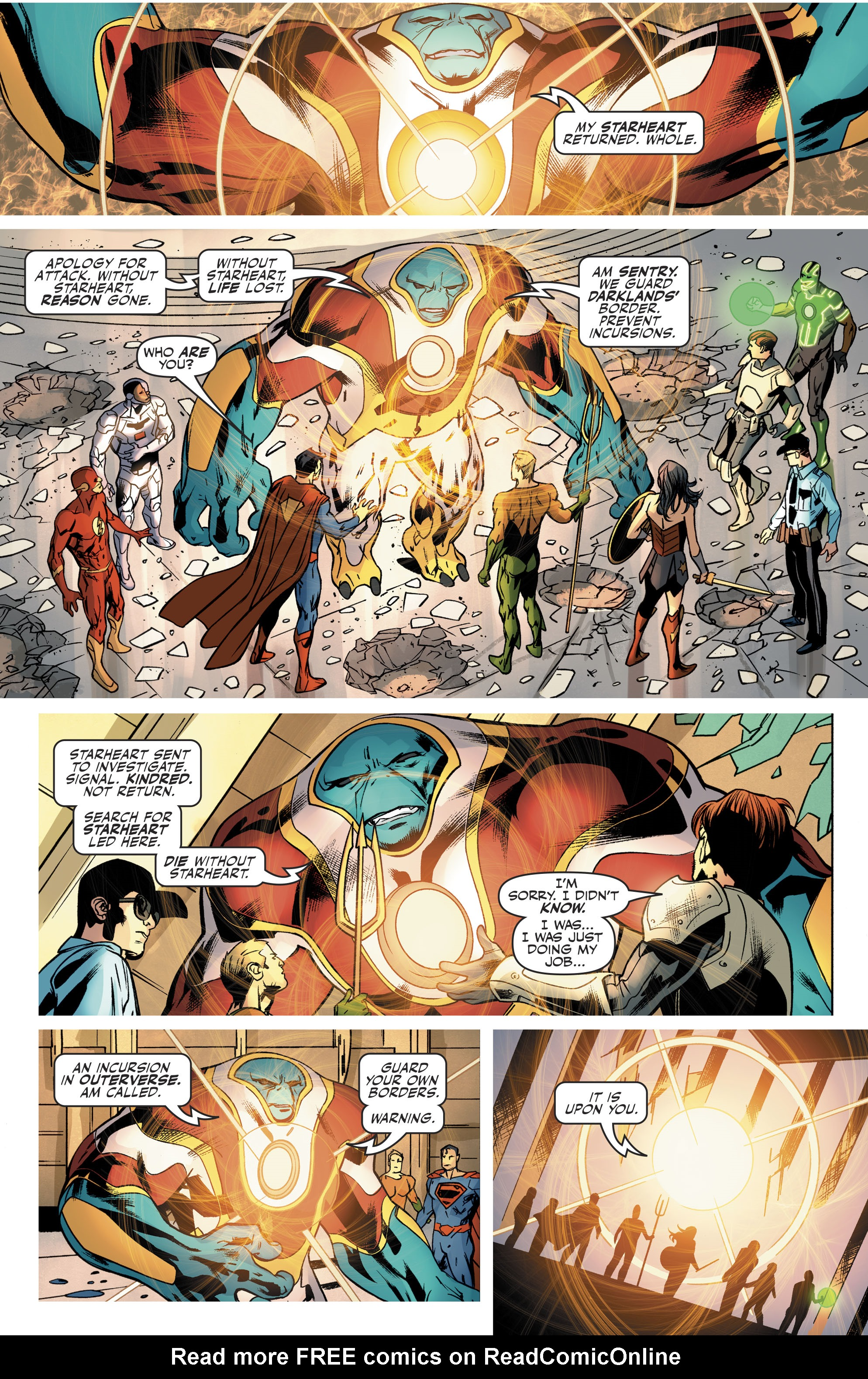 Read online Justice League (2016) comic -  Issue #21 - 21