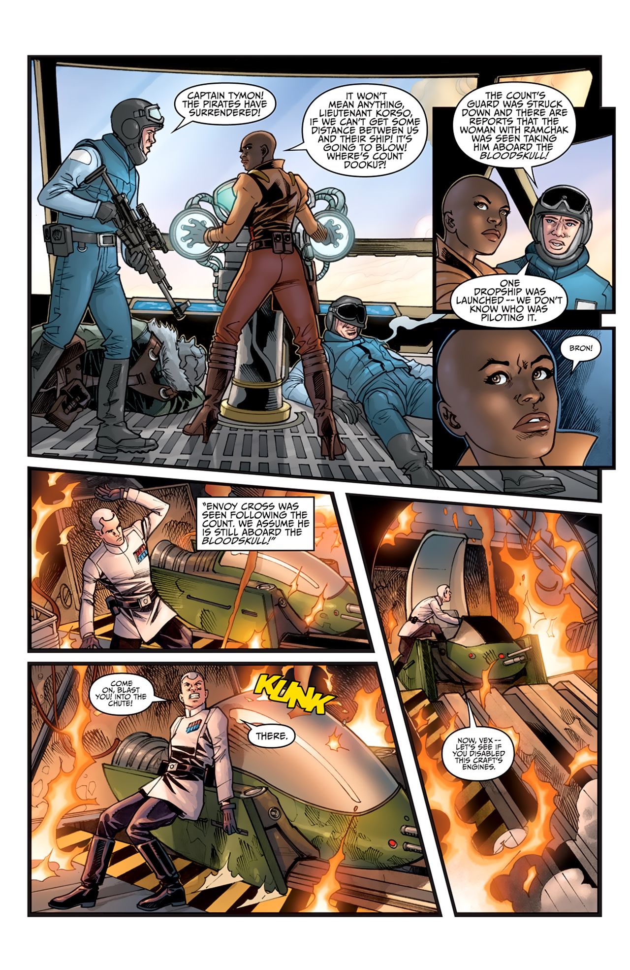 Read online Star Wars: Agent Of The Empire - Hard Targets comic -  Issue #3 - 3