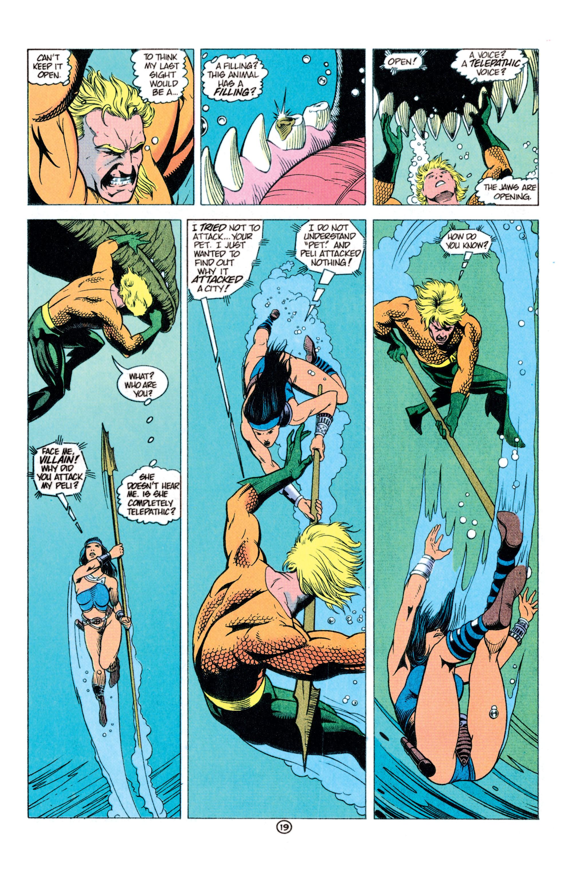 Read online Aquaman (1991) comic -  Issue #11 - 20