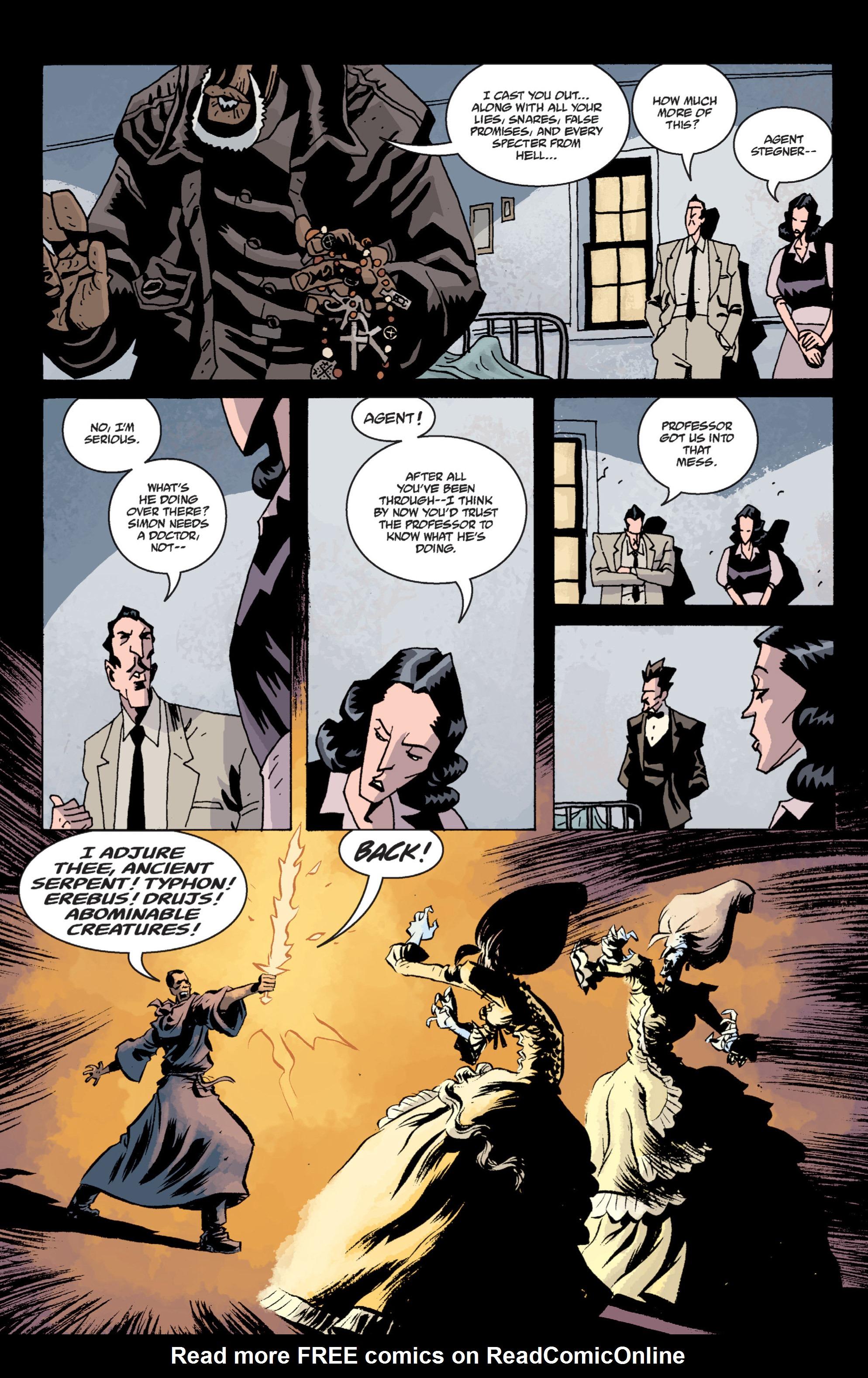 Read online B.P.R.D. (2003) comic -  Issue # TPB 13 - 125