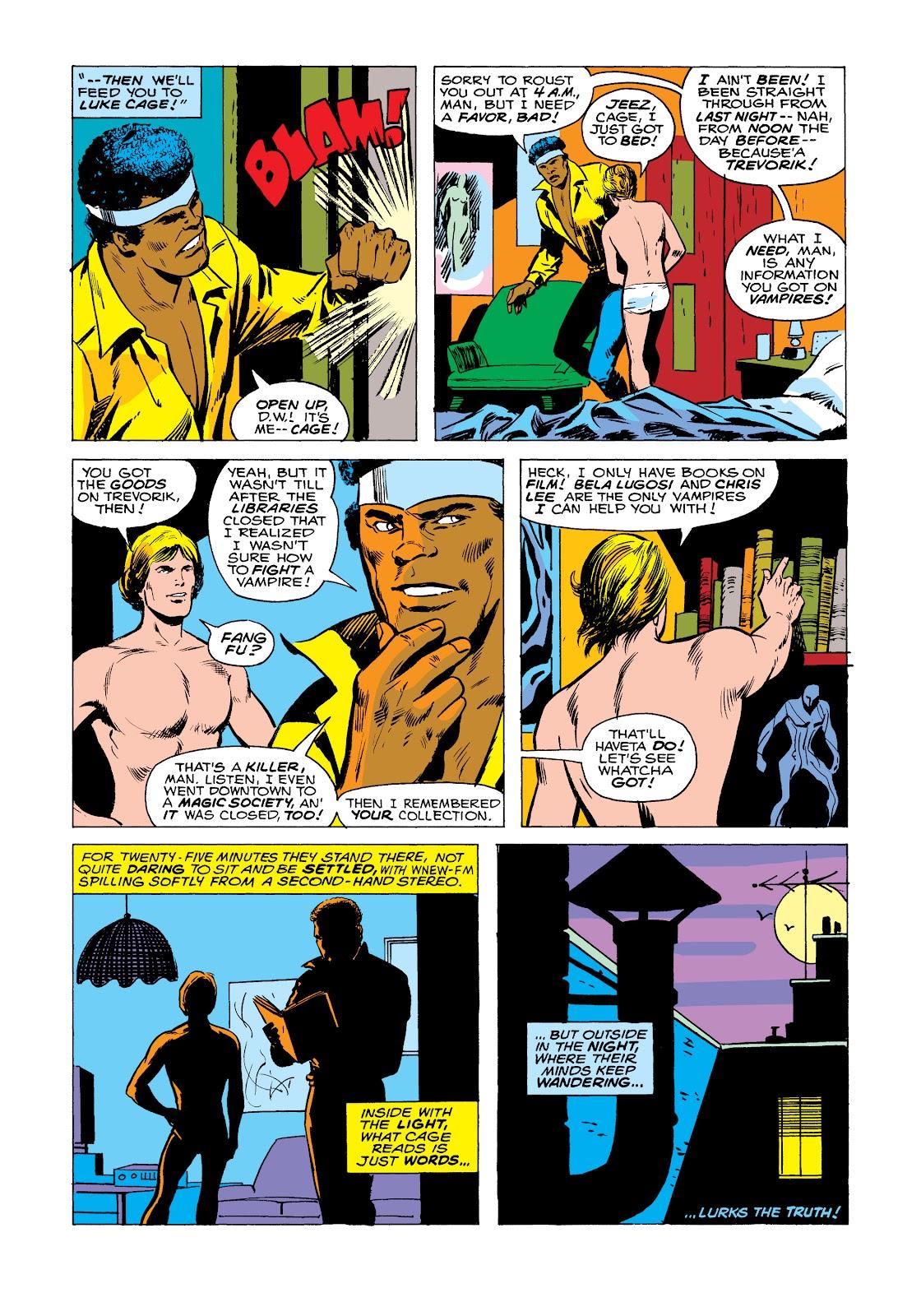 Read online Marvel Masterworks: Luke Cage, Power Man comic -  Issue # TPB 2 (Part 2) - 94