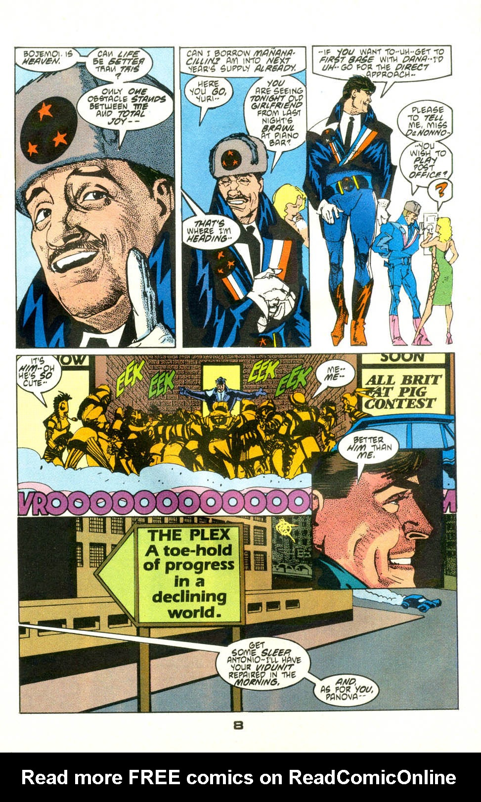 Read online American Flagg! comic -  Issue #24 - 10