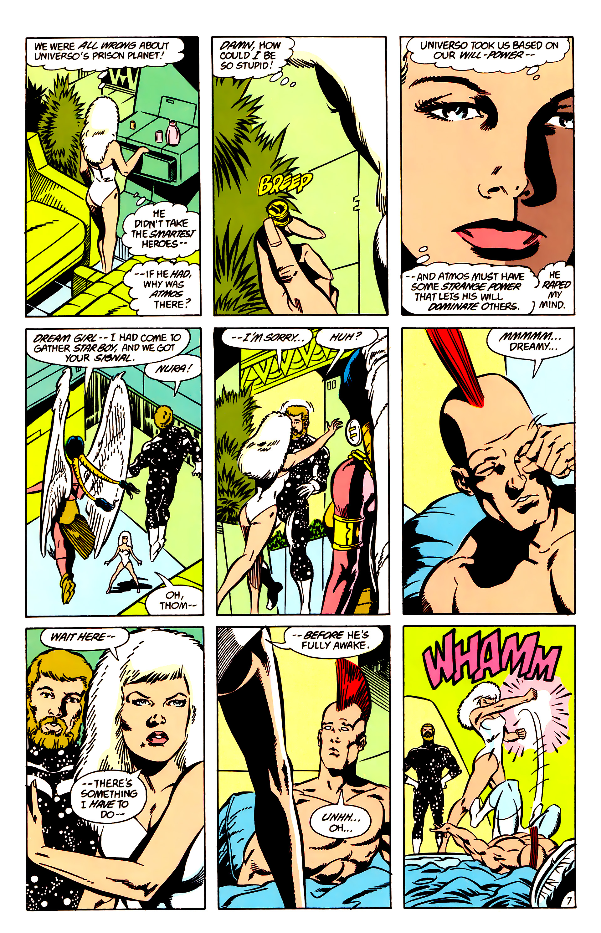 Legion of Super-Heroes (1984) 63 Page 7