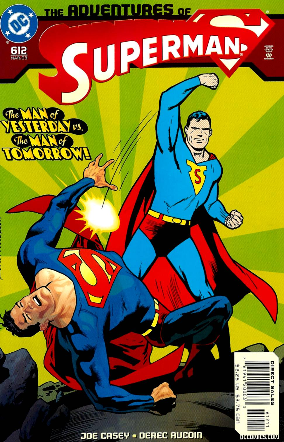 Read online Adventures of Superman (1987) comic -  Issue #612 - 1