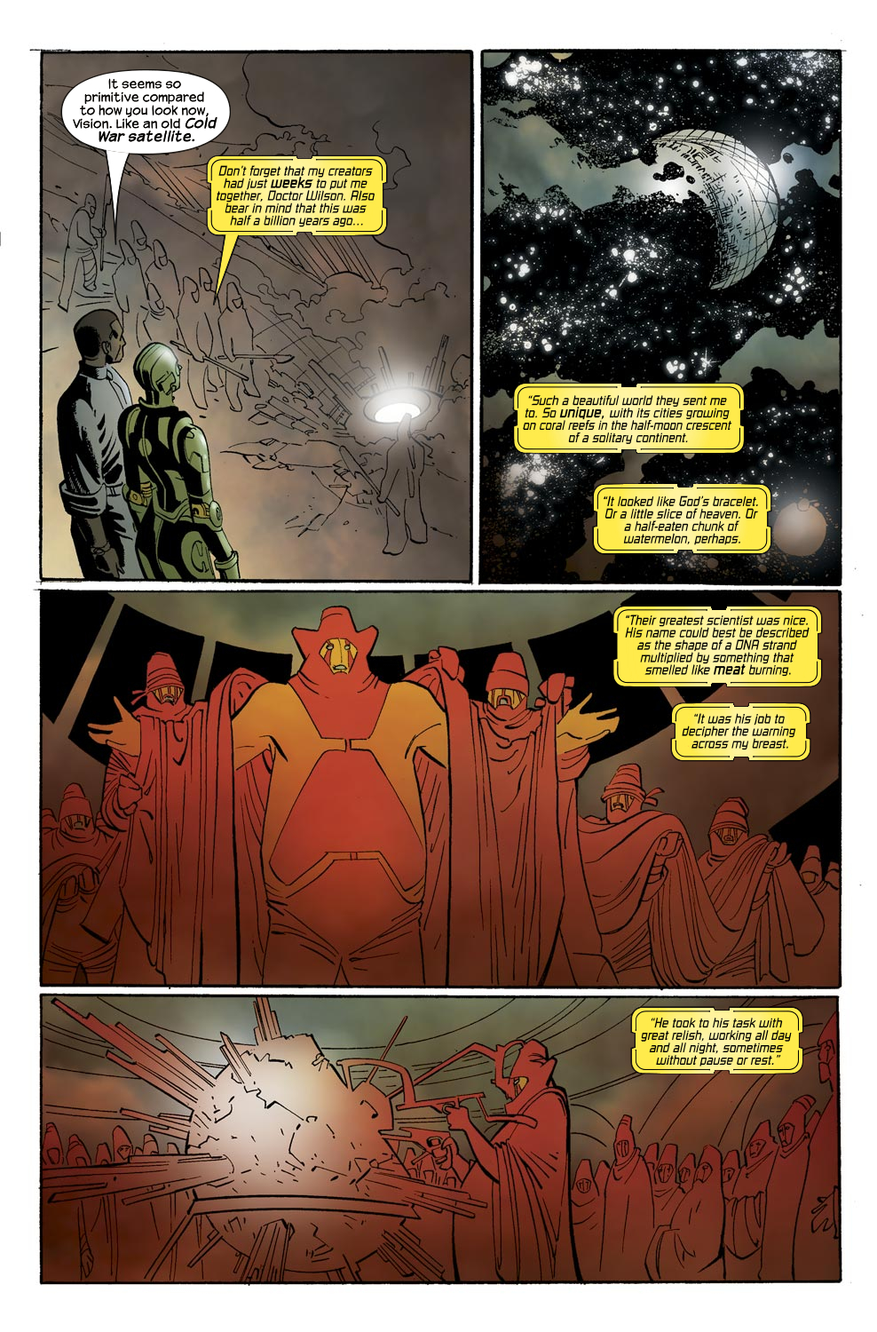 Read online Ultimate Vision comic -  Issue #0 - 8
