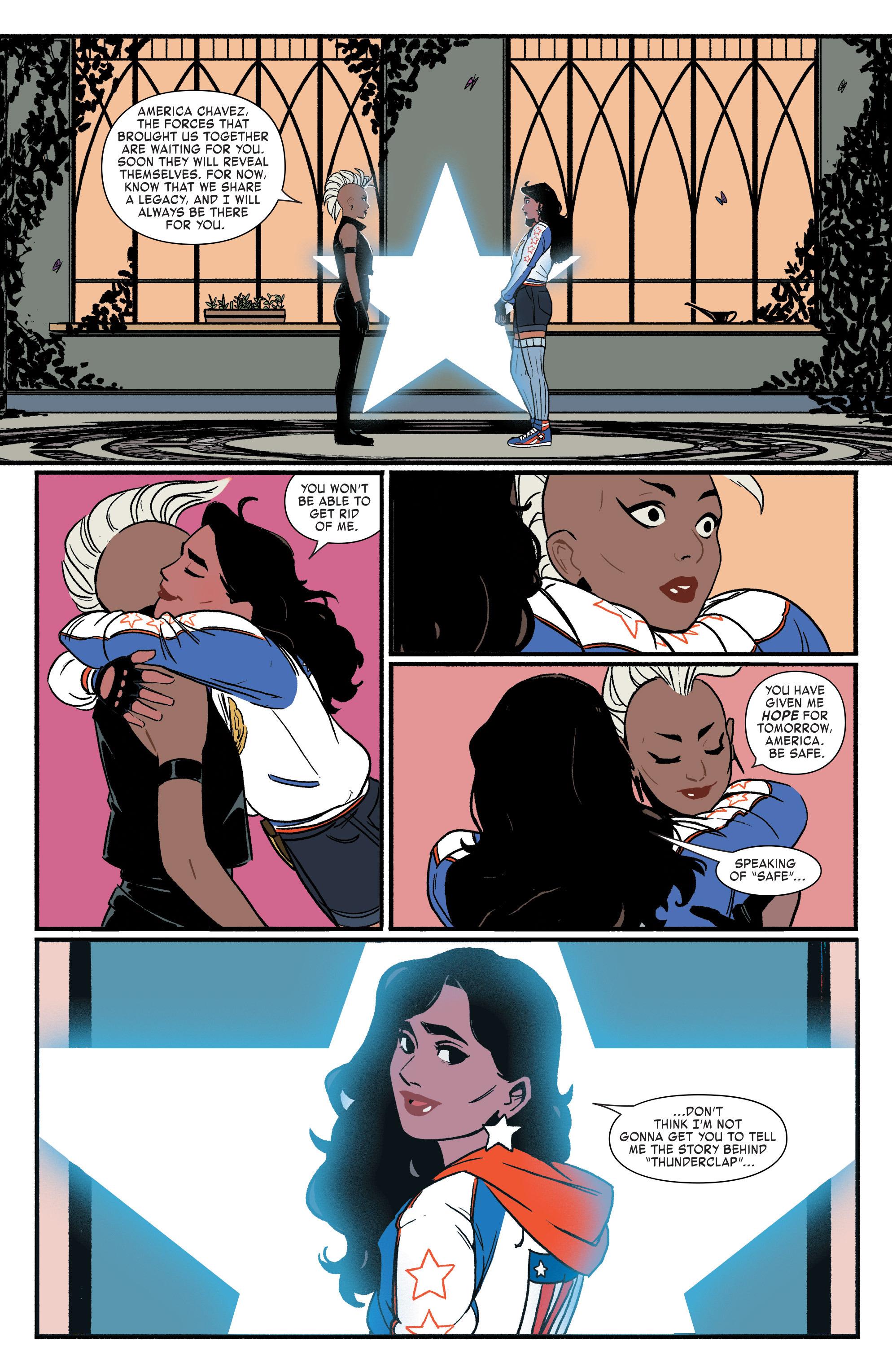 Read online America (2016) comic -  Issue #3 - 14