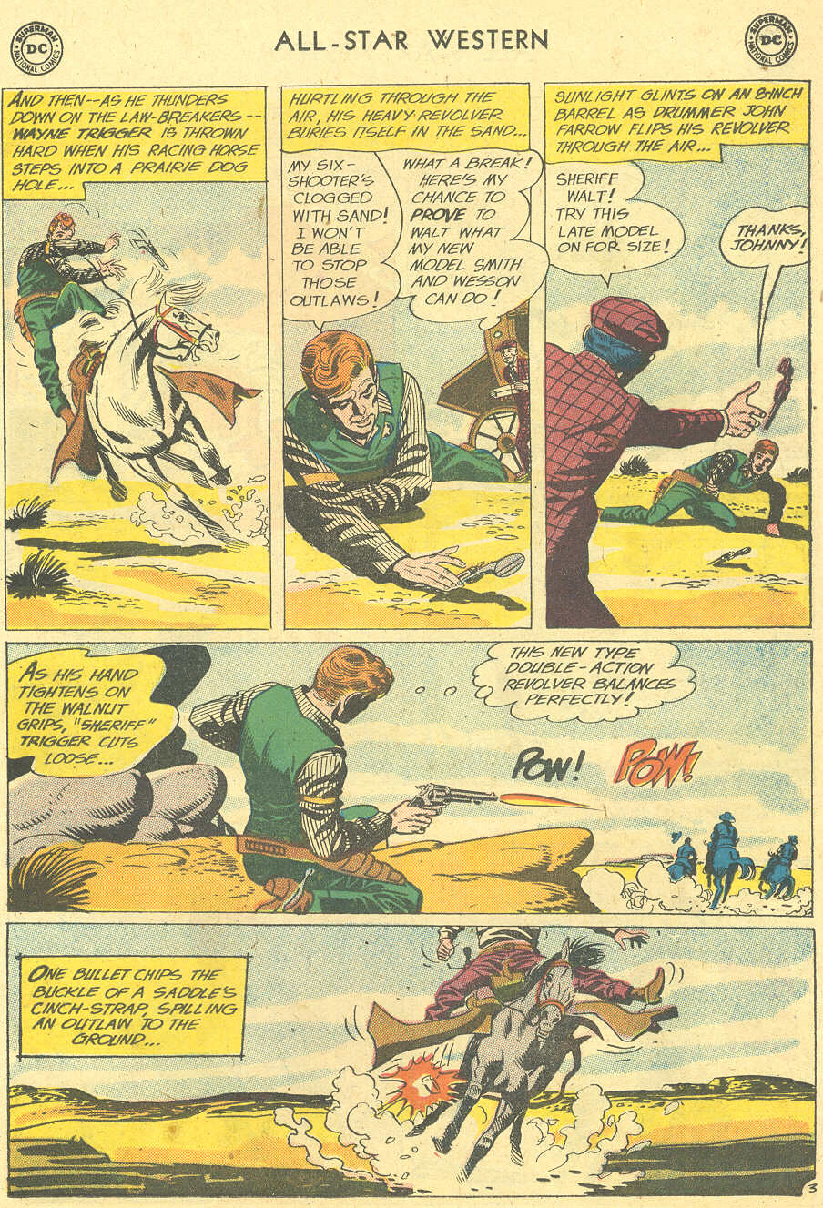 Read online All-Star Western (1951) comic -  Issue #113 - 27
