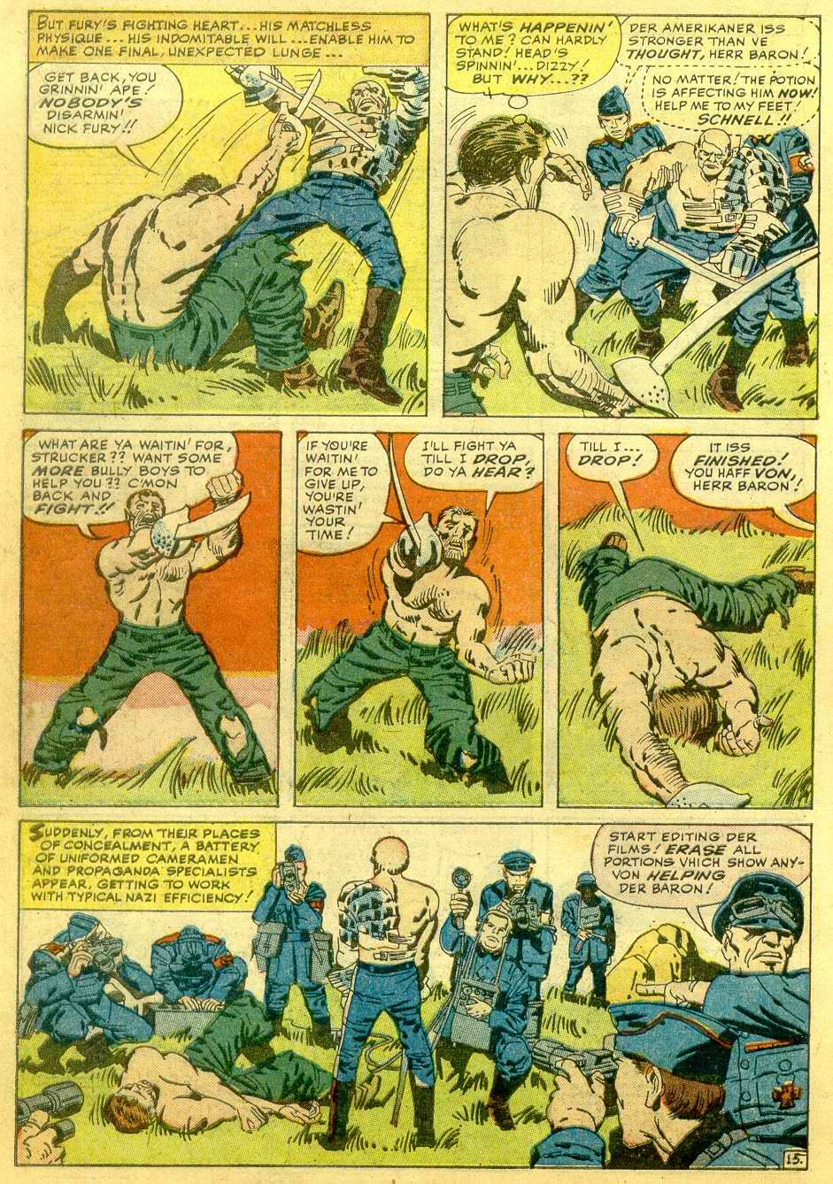 Read online Sgt. Fury comic -  Issue # _Annual 1 - 62