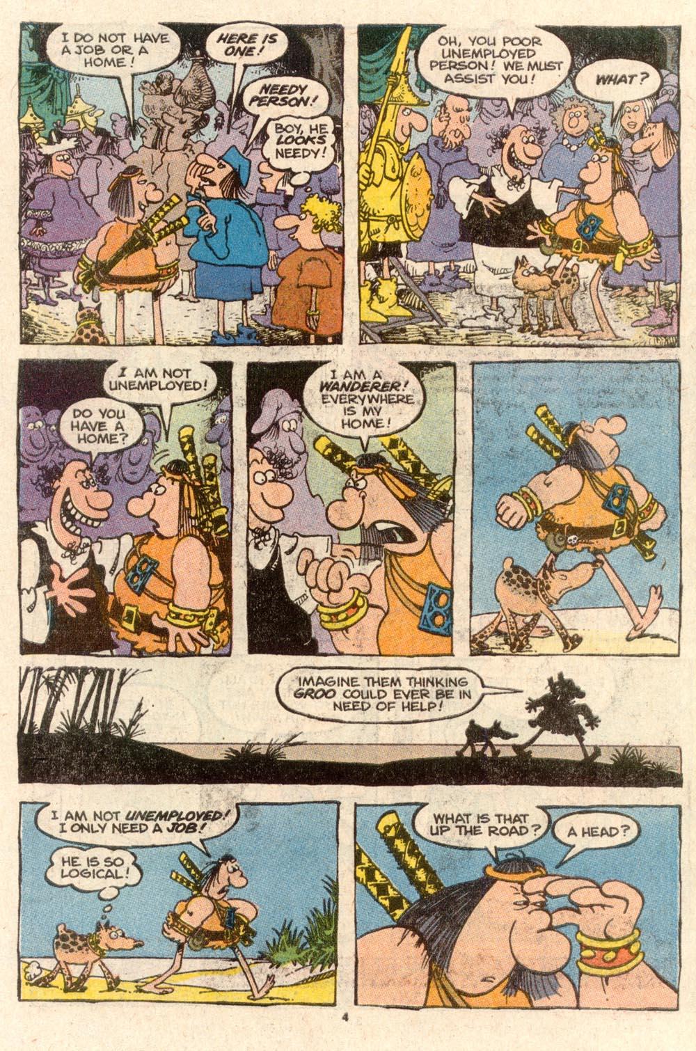 Read online Sergio Aragonés Groo the Wanderer comic -  Issue #60 - 4