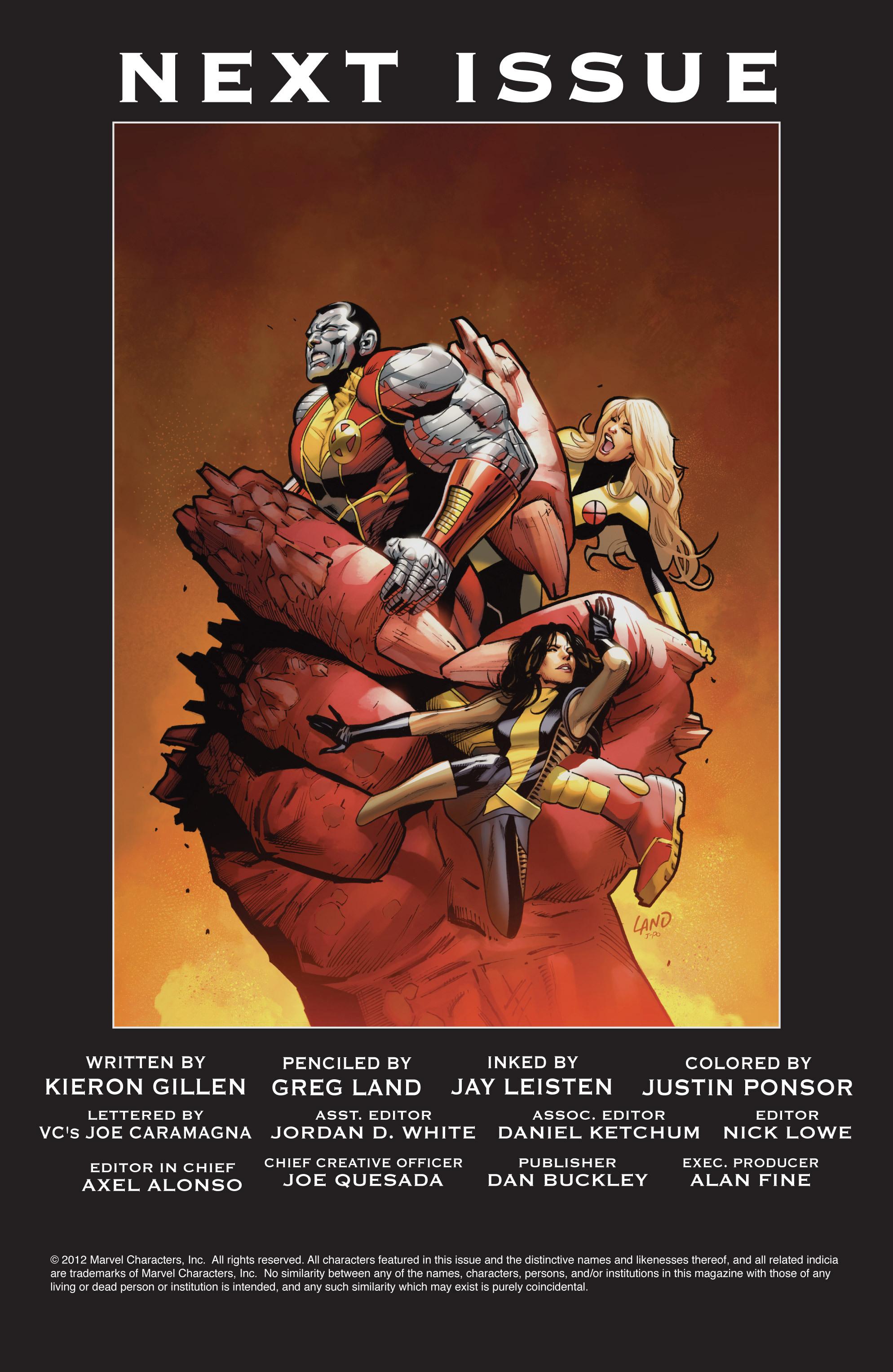 Read online Uncanny X-Men (1963) comic -  Issue #541 - 25