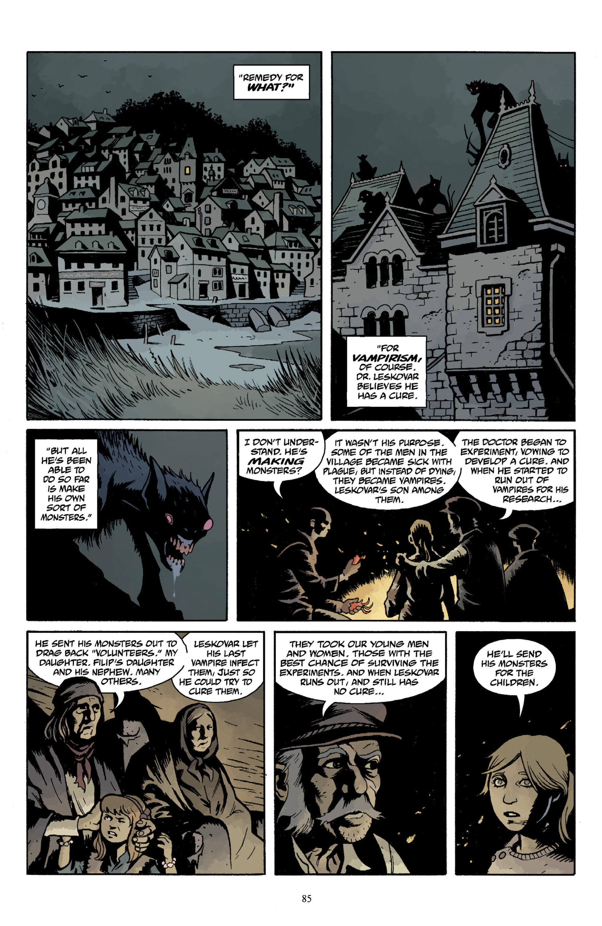 Read online Baltimore Volume 3: A Passing Stranger and Other Stories comic -  Issue # Full - 87