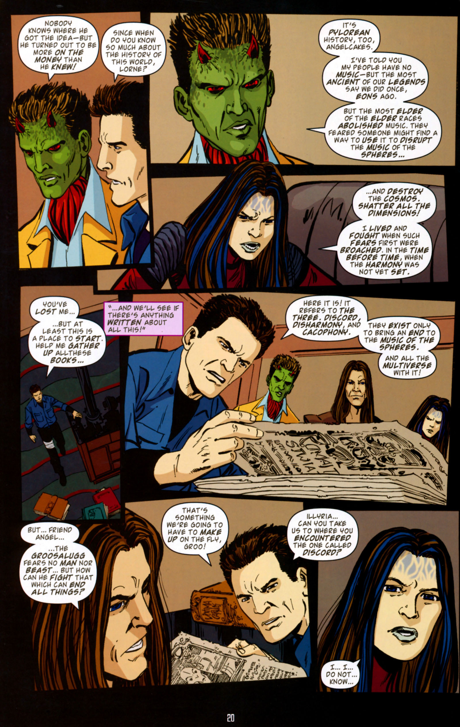Read online Angel Special: Lorne comic -  Issue # Full - 21