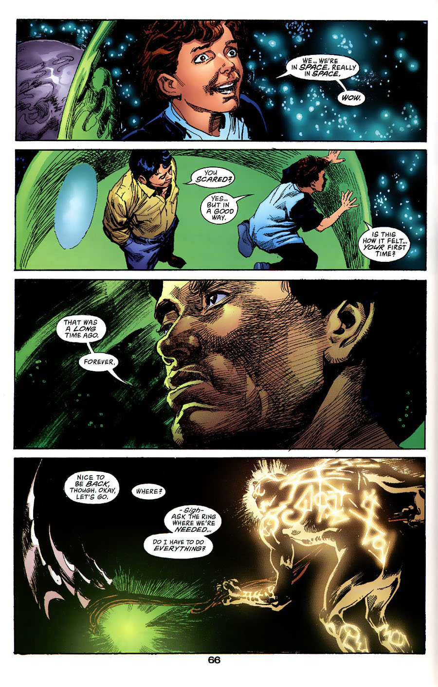 Read online Green Lantern: Legacy: The Last Will and Testament of Hal Jordan comic -  Issue # TPB - 72