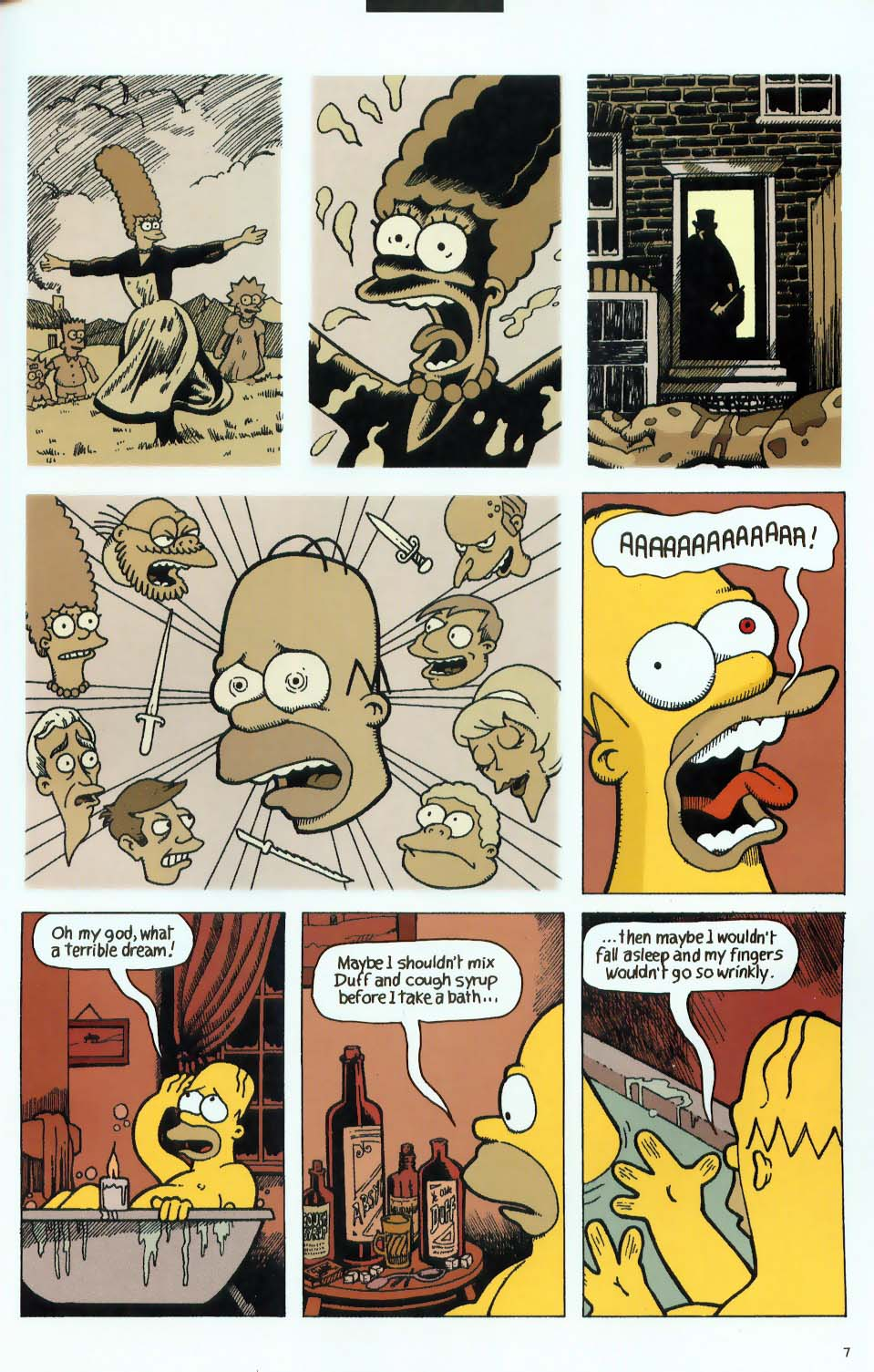 Read online Treehouse of Horror comic -  Issue #9 - 39