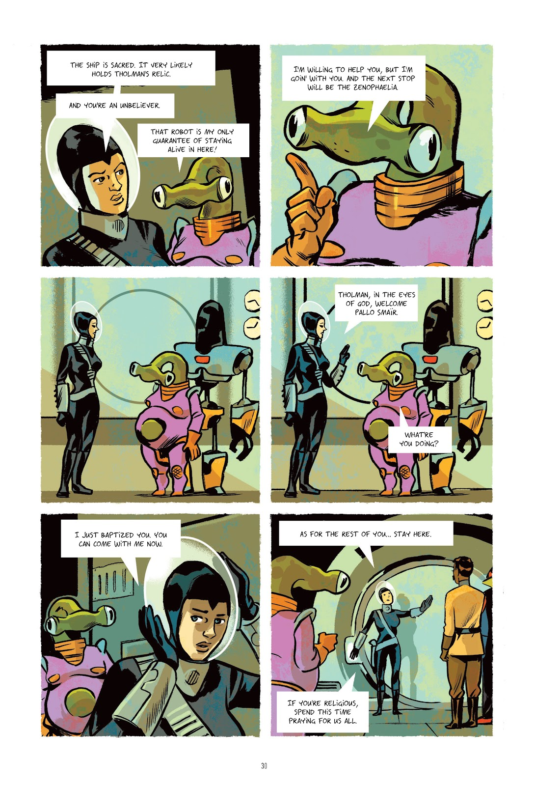 Read online Infinity 8 comic -  Issue # _TPB 3 - 30