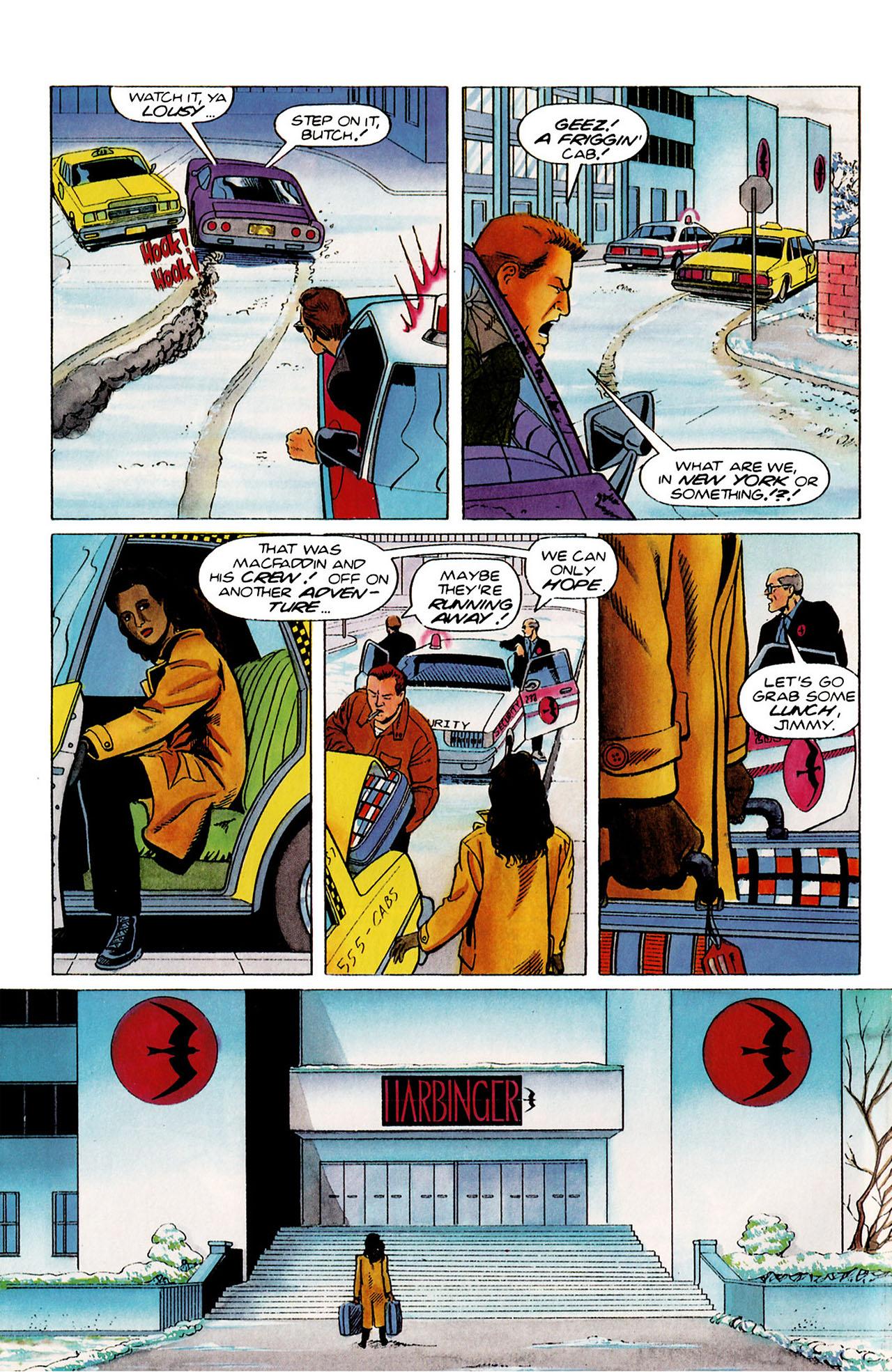 Read online Harbinger (1992) comic -  Issue #27 - 5