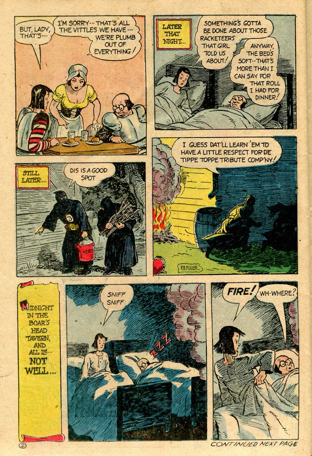 Read online Famous Funnies comic -  Issue #116 - 38