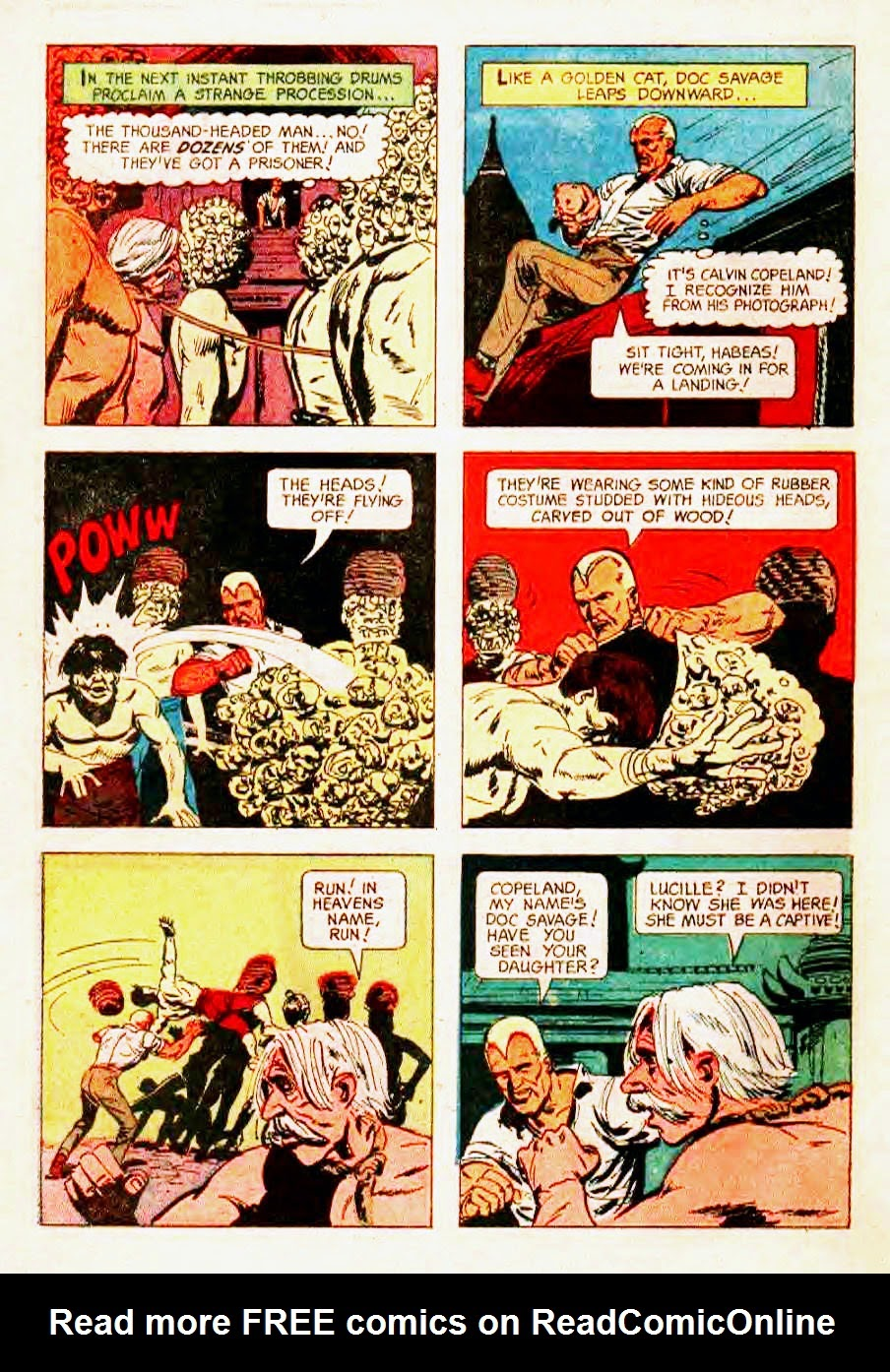 Read online Doc Savage (1966) comic -  Issue # Full - 30