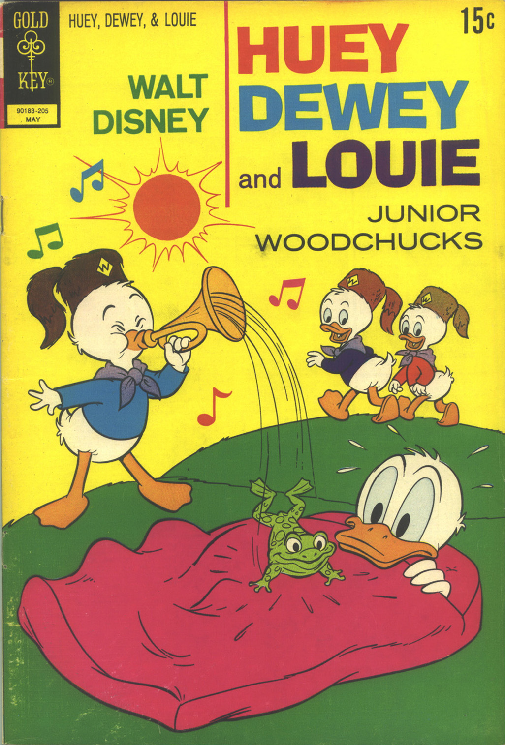 Huey, Dewey, and Louie Junior Woodchucks 14 Page 1