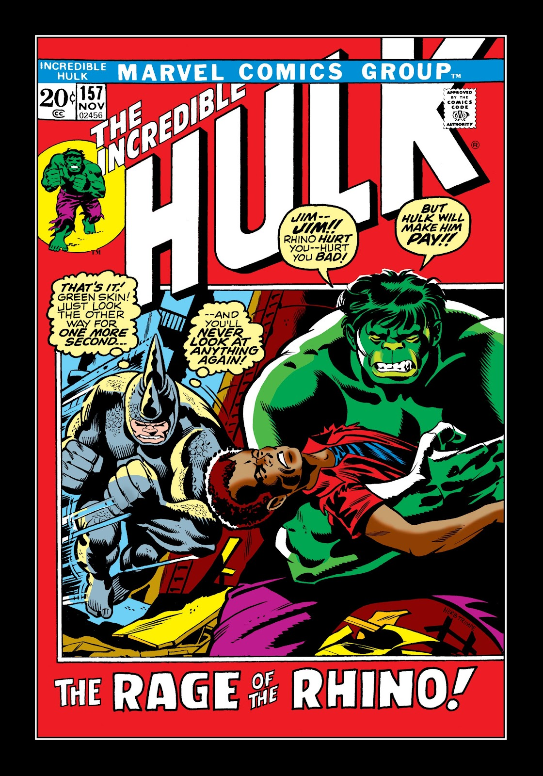 Read online Marvel Masterworks: The Incredible Hulk comic -  Issue # TPB 9 (Part 1) - 9