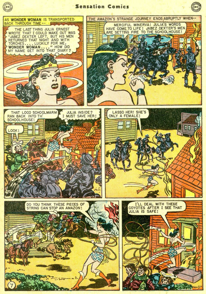 Read online Sensation (Mystery) Comics comic -  Issue #87 - 9