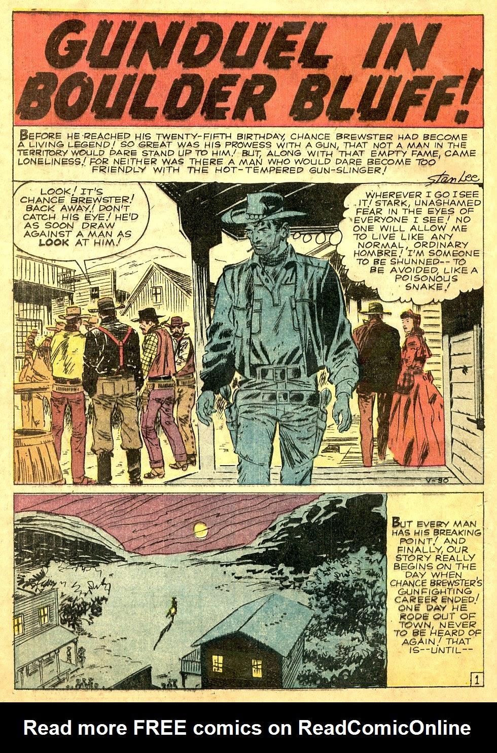Gunsmoke Western issue 63 - Page 20
