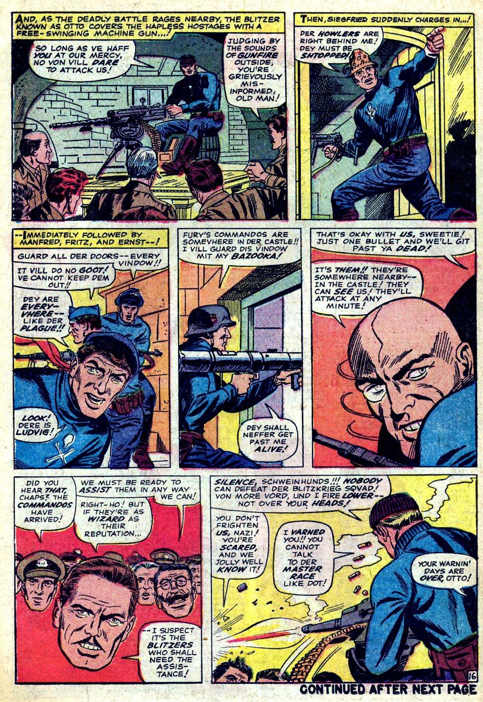 Read online Sgt. Fury comic -  Issue #20 - 22