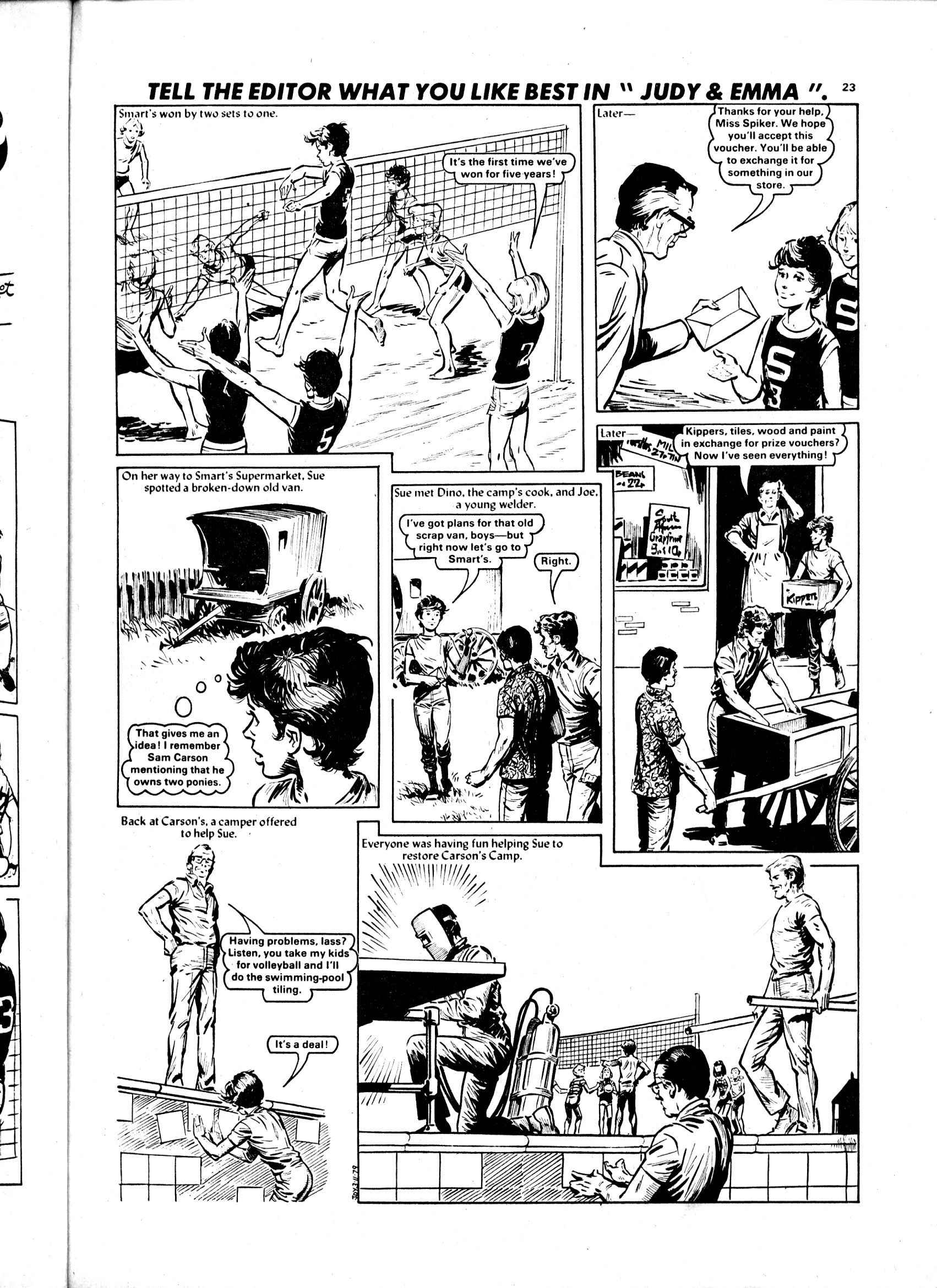 Read online Judy comic -  Issue #1034 - 19