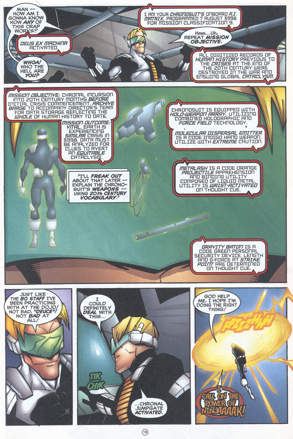 Read online Doctor Tomorrow comic -  Issue #12 - 16