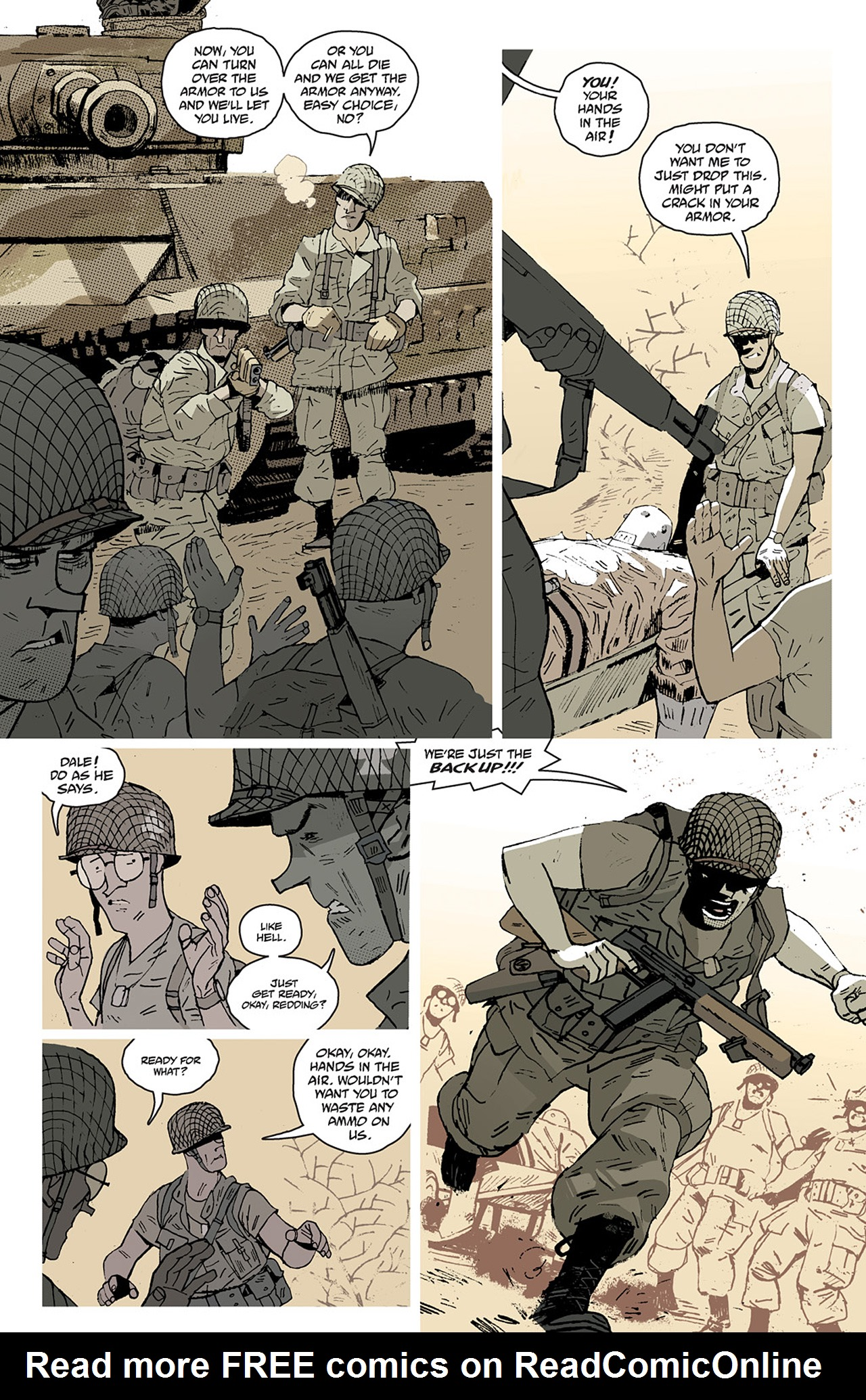 Read online Sledgehammer 44 comic -  Issue #2 - 3