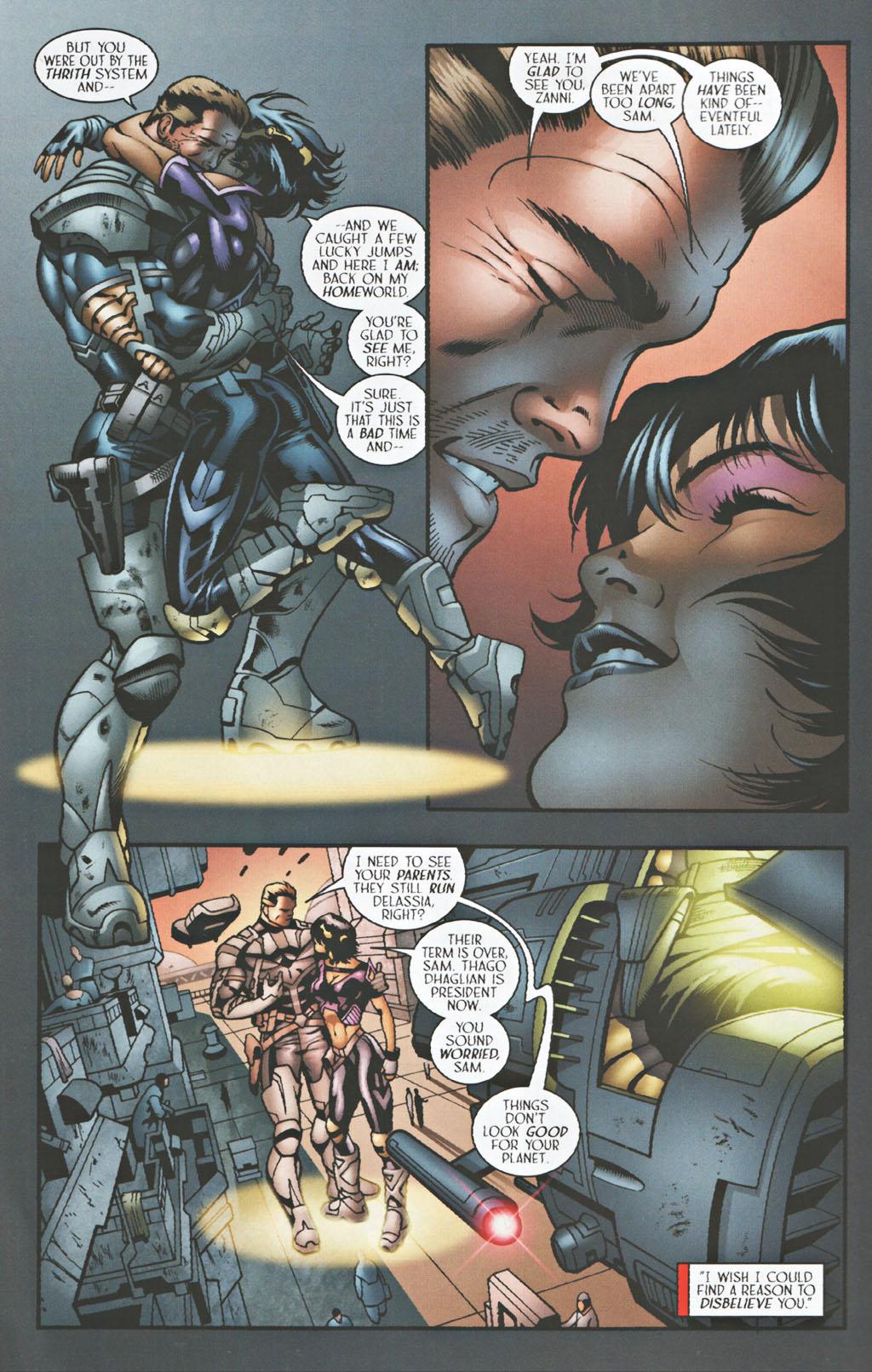Read online Sigil (2000) comic -  Issue #41 - 7
