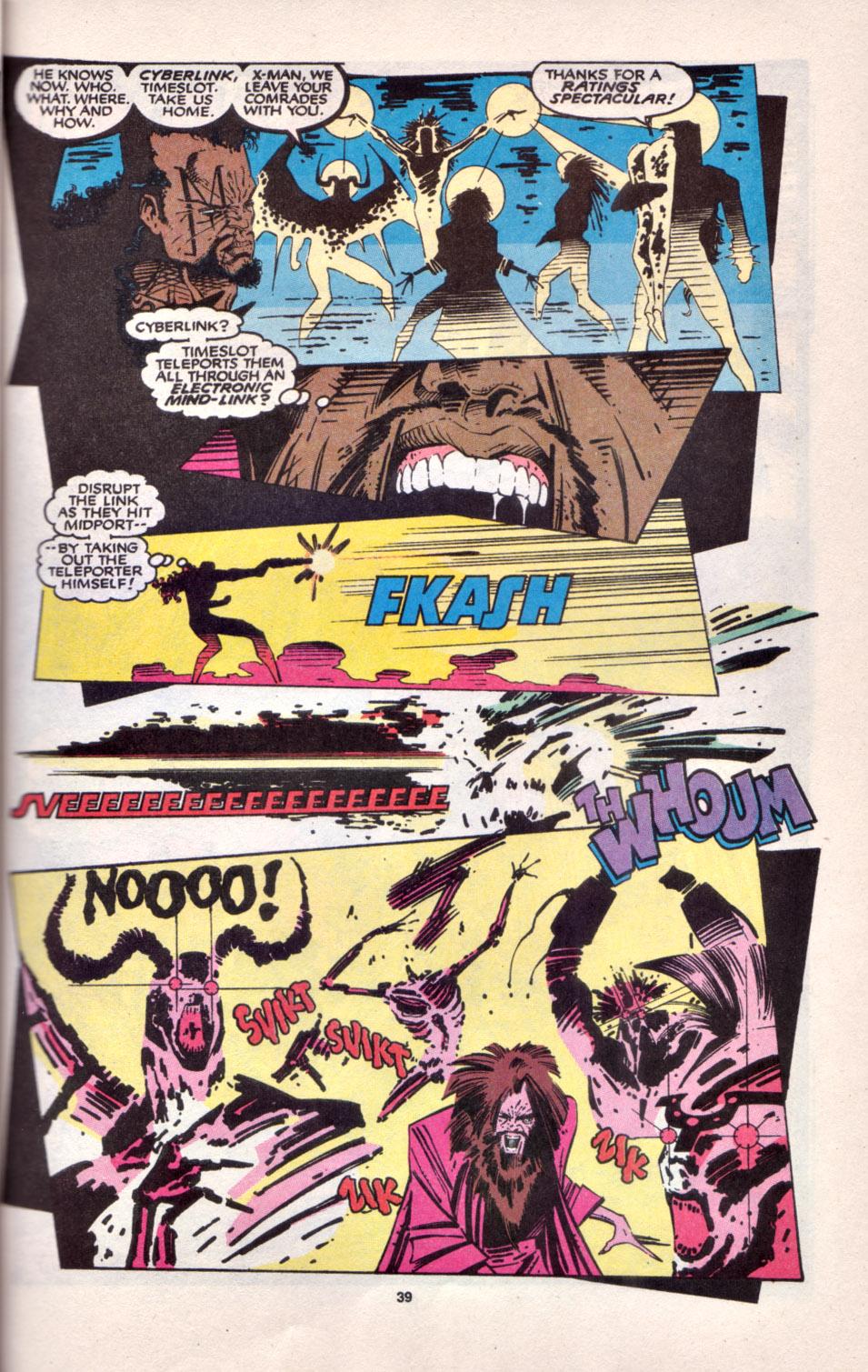 Read online Uncanny X-Men (1963) comic -  Issue # _Annual 16 - 32
