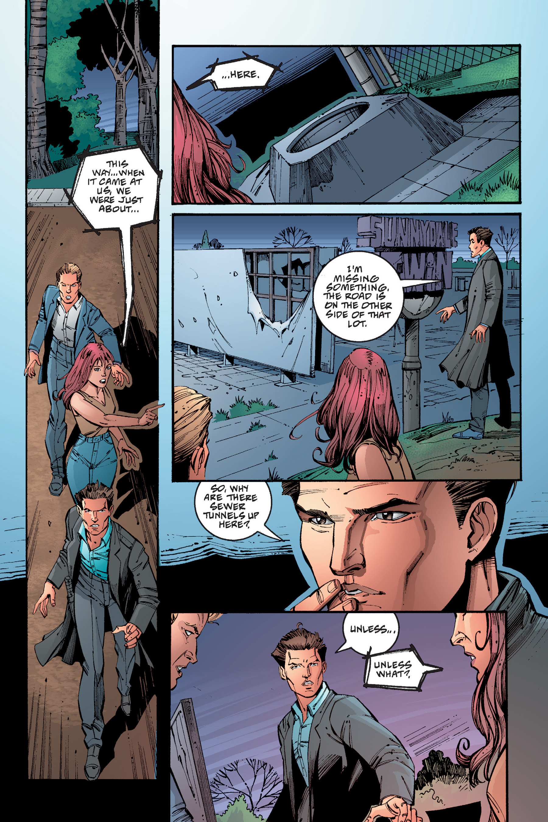 Read online Buffy the Vampire Slayer: Omnibus comic -  Issue # TPB 4 - 329