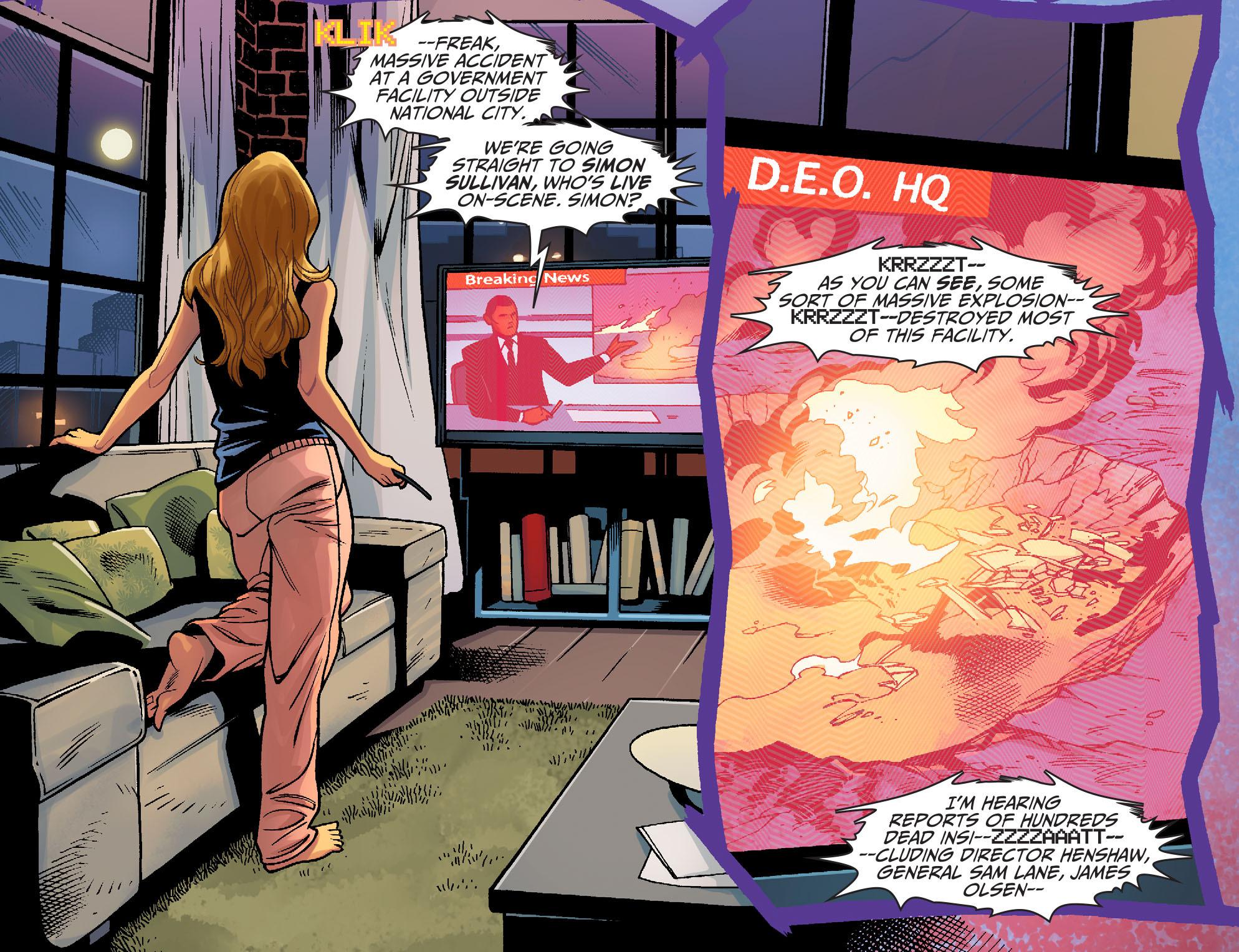 Read online Adventures of Supergirl comic -  Issue #6 - 12
