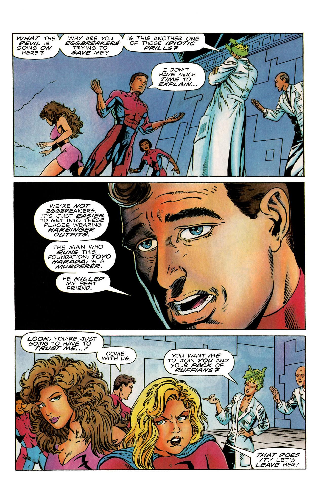 Read online Harbinger (1992) comic -  Issue #19 - 6