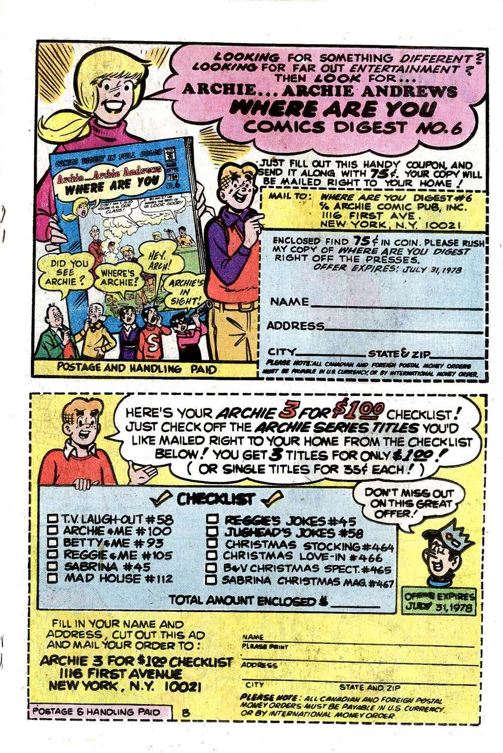 Read online Archie (1960) comic -  Issue #270 - 19