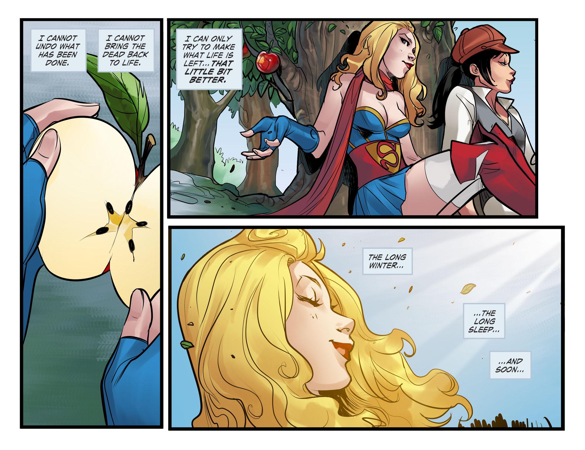 Read online DC Comics: Bombshells comic -  Issue #100 - 20