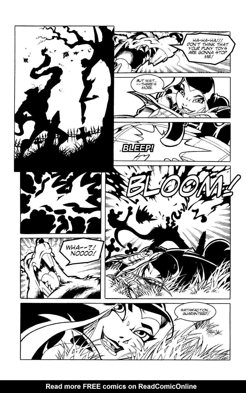 Warrior Nun Areala:  Dangerous Game Issue #3 #3 - English 8