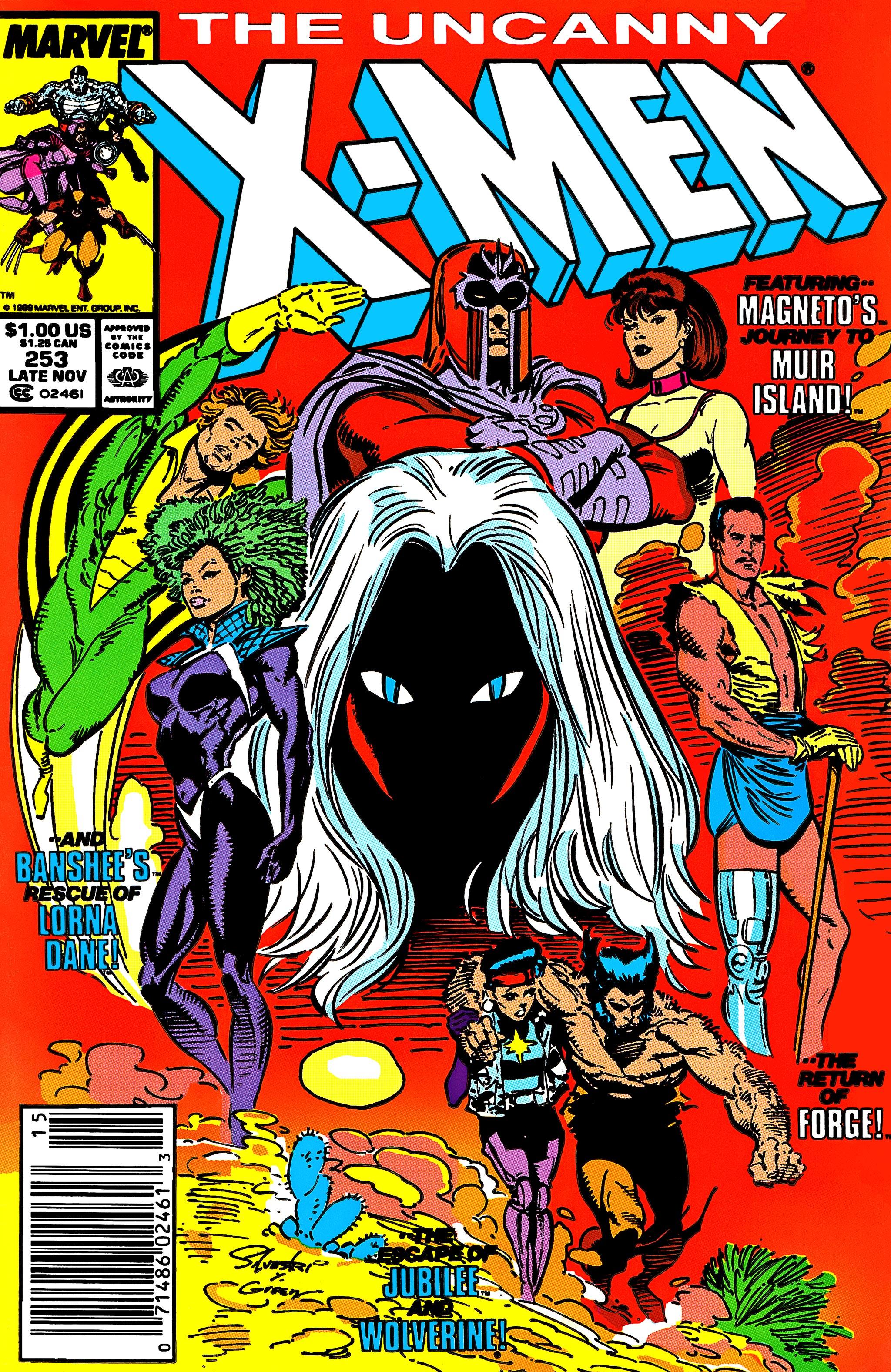 Uncanny X-Men (1963) 253 Page 1