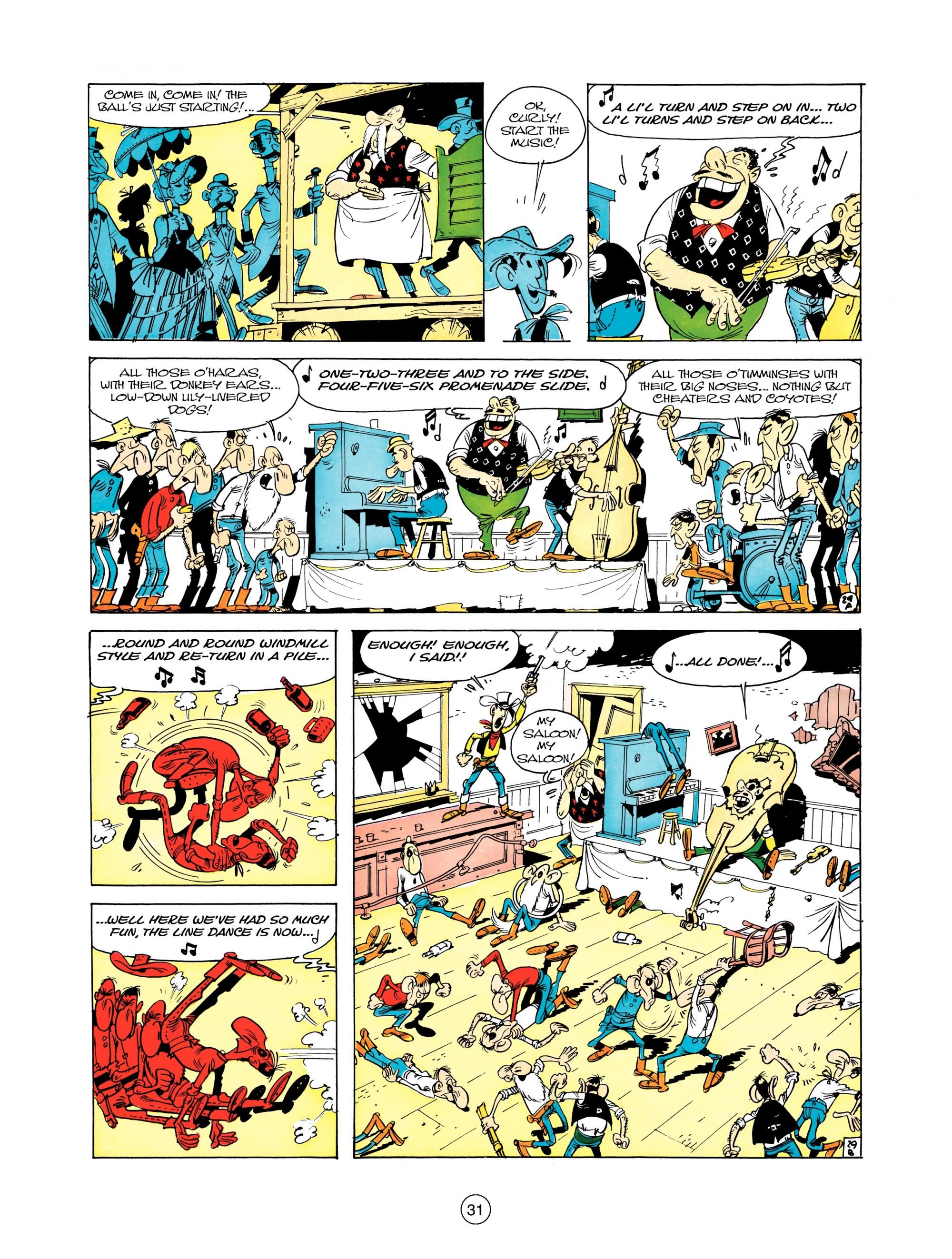 Read online A Lucky Luke Adventure comic -  Issue #12 - 31