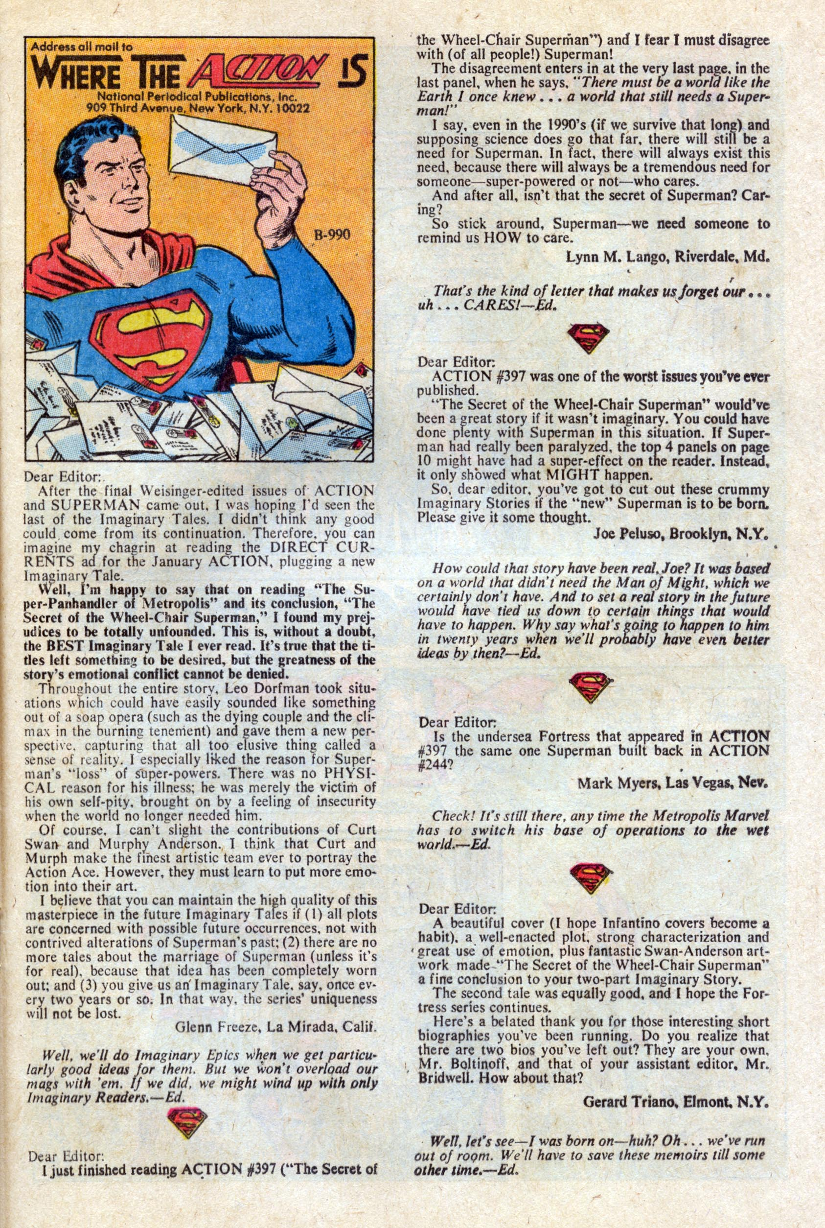 Read online Action Comics (1938) comic -  Issue #401 - 22